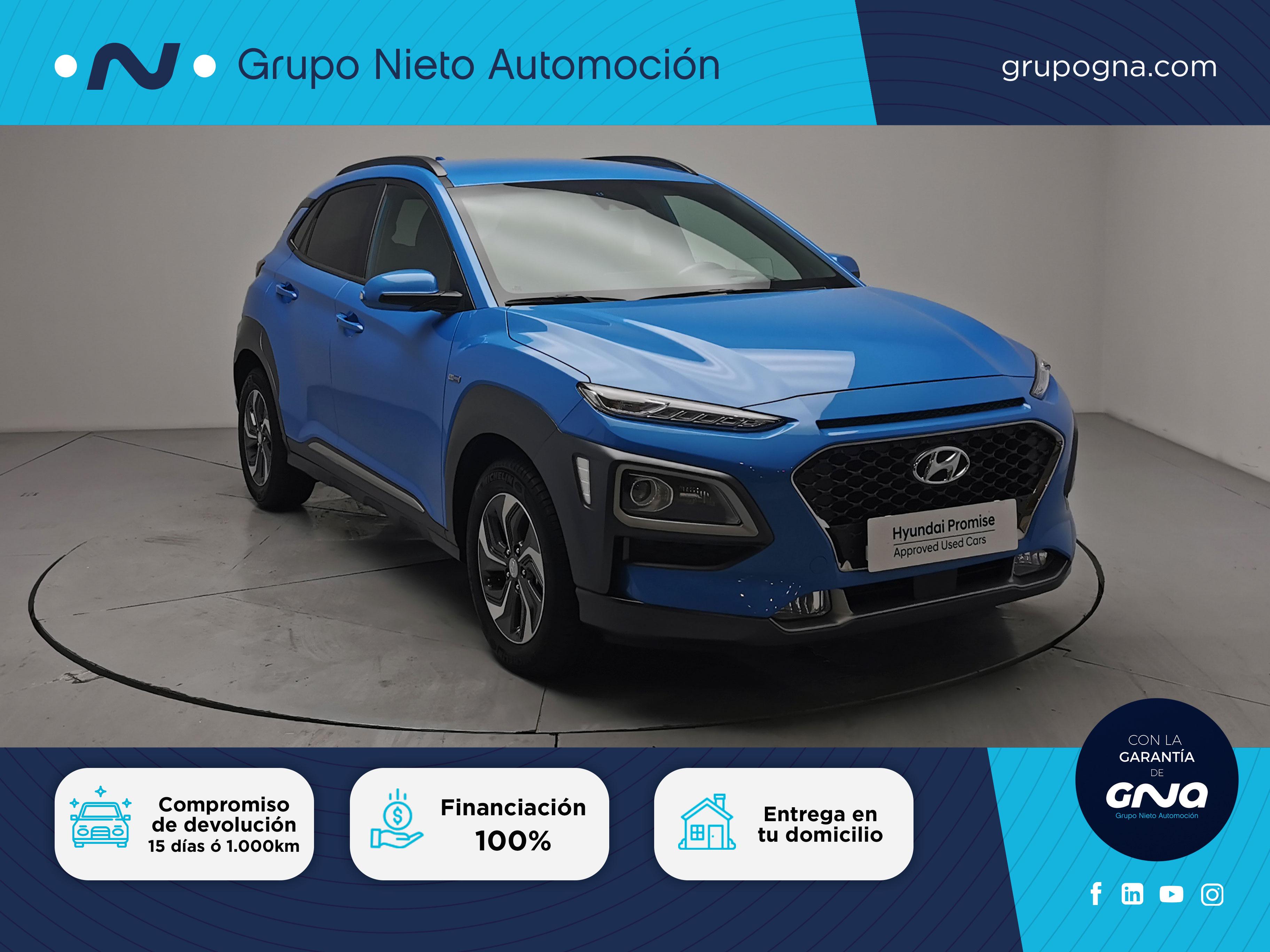 Hyundai Kona ocasión segunda mano 2020 Gasolina por 23.600€ en Málaga