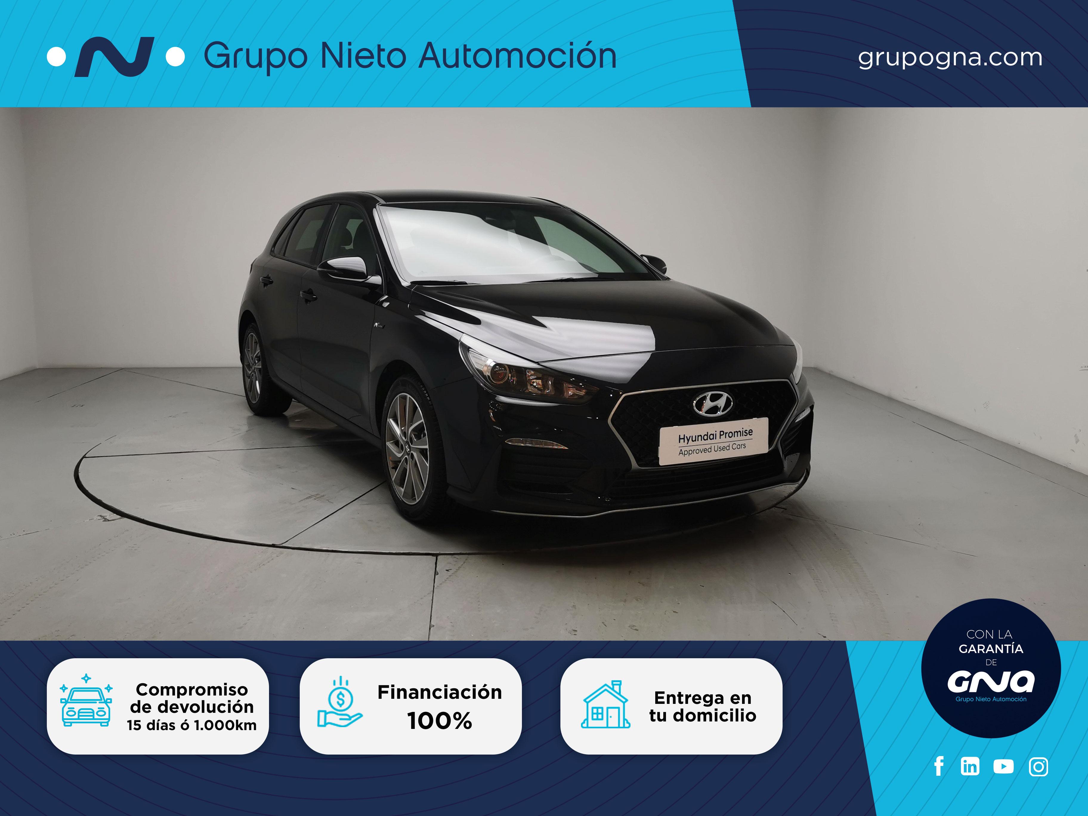 Hyundai i30 ocasión segunda mano 2020 Gasolina por 20.500€ en Málaga