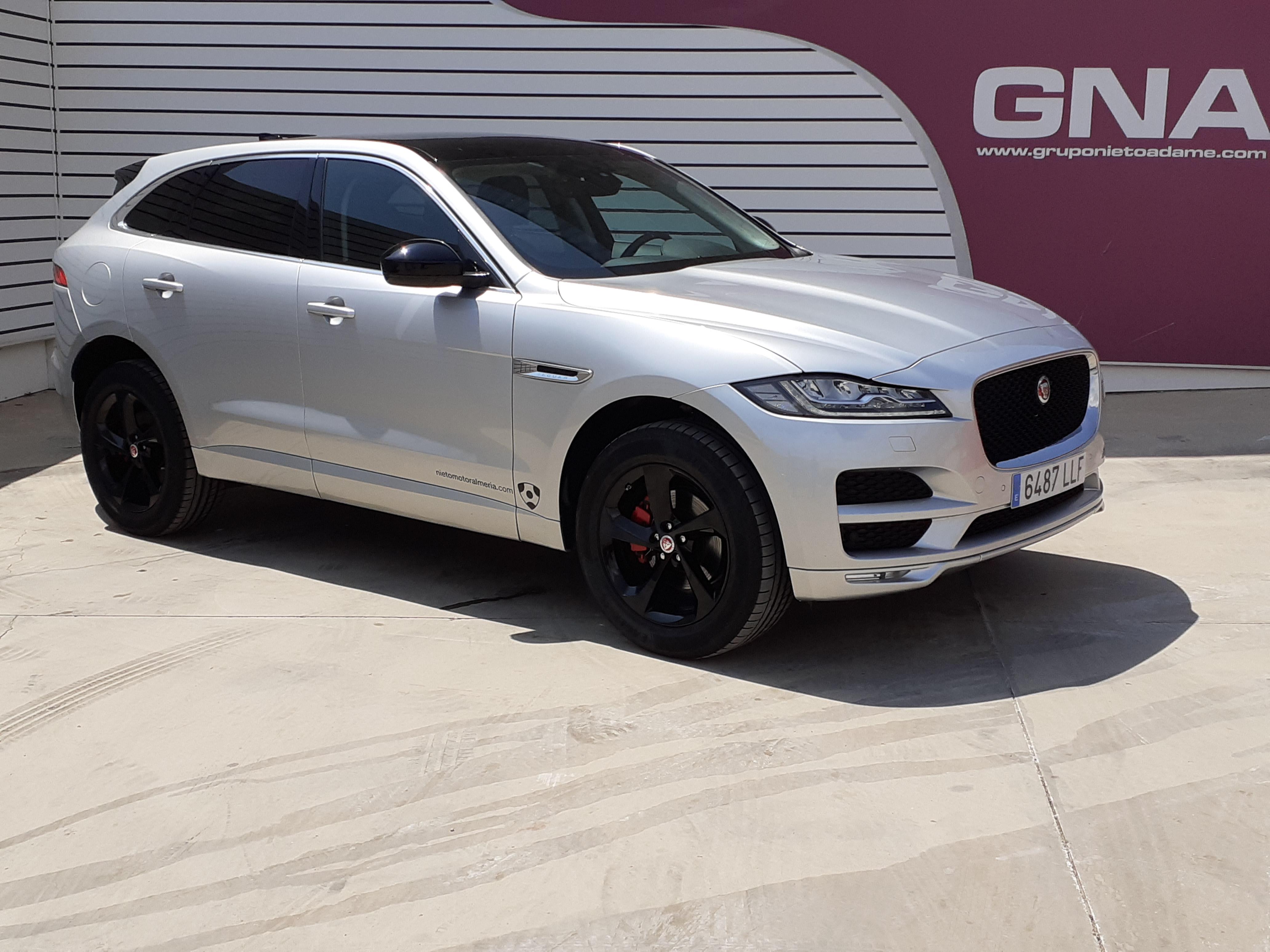 Jaguar F-Pace ocasión segunda mano 2020 Diésel por 49.990€ en Málaga