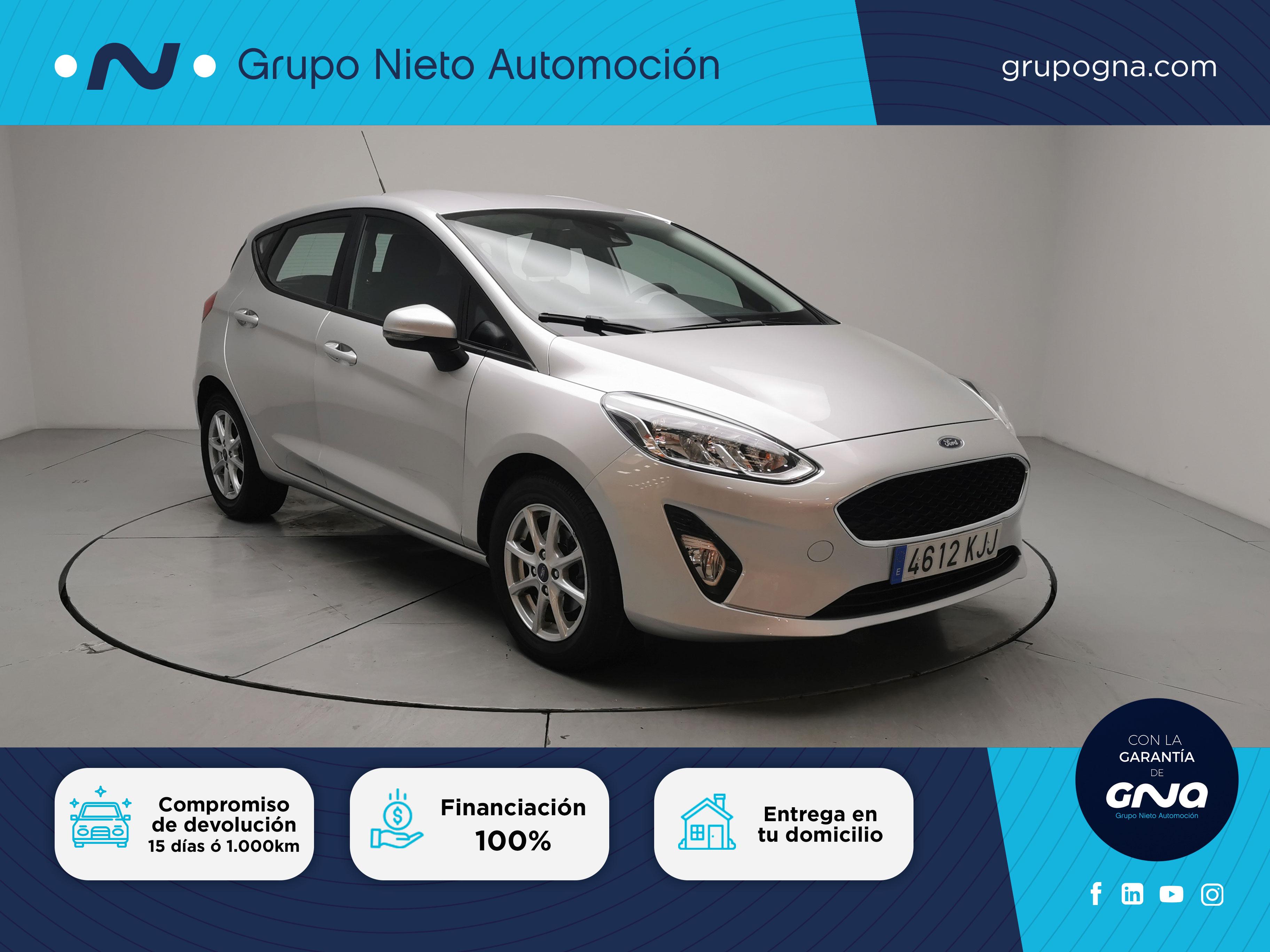 Ford Fiesta ocasión segunda mano 2018 Gasolina por 11.500€ en Málaga