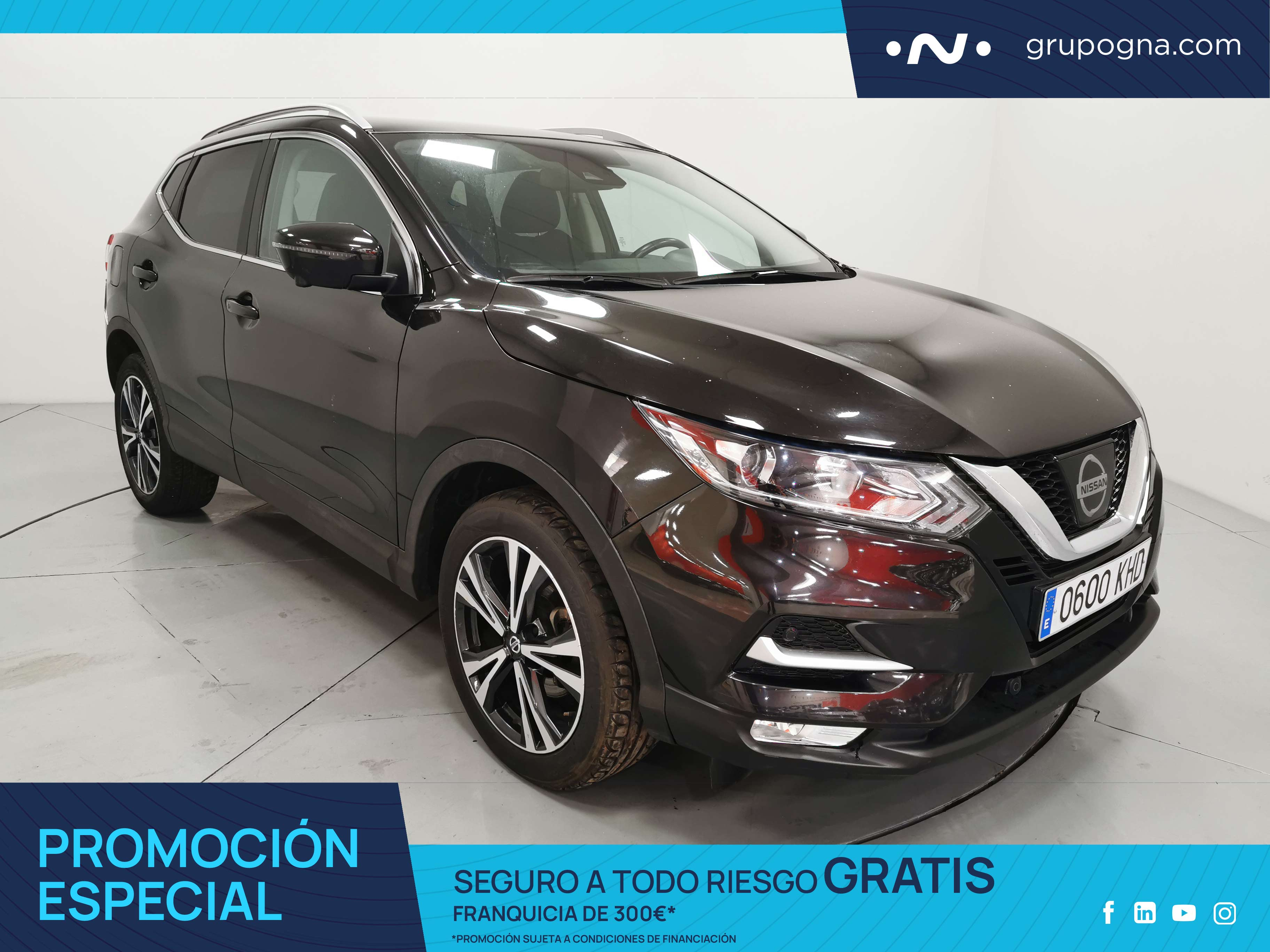 Nissan Qashqai ocasión segunda mano 2018 Gasolina por 16.600€ en Málaga