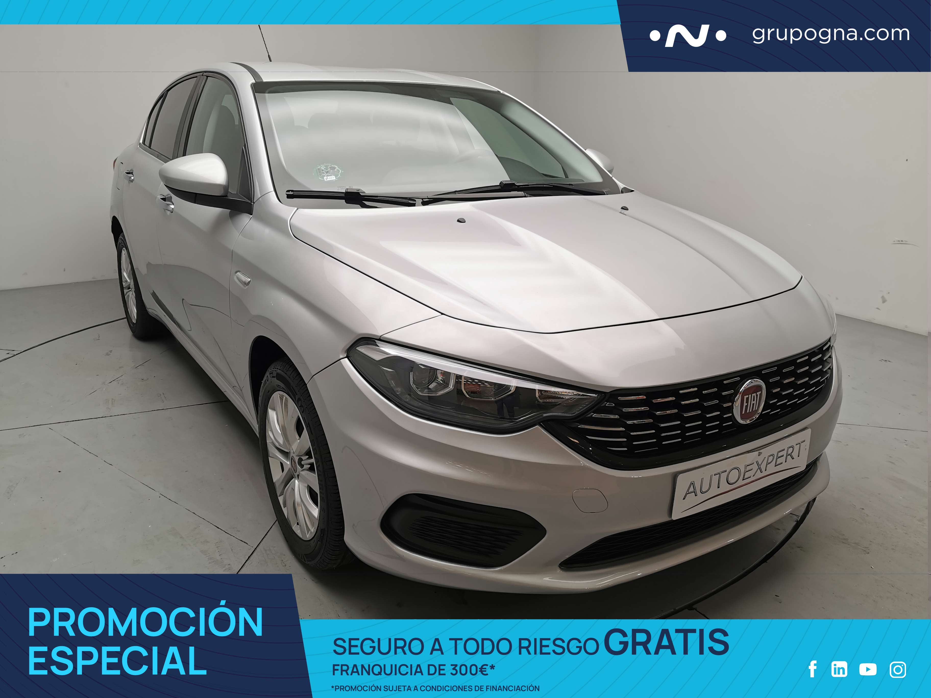 Fiat Tipo ocasión segunda mano 2019 Gasolina por 10.990€ en Málaga