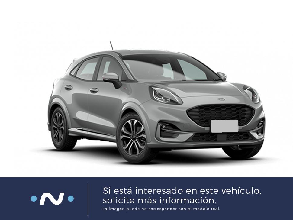 Ford Puma ocasión segunda mano 2021 Gasolina por 24.500€ en Málaga