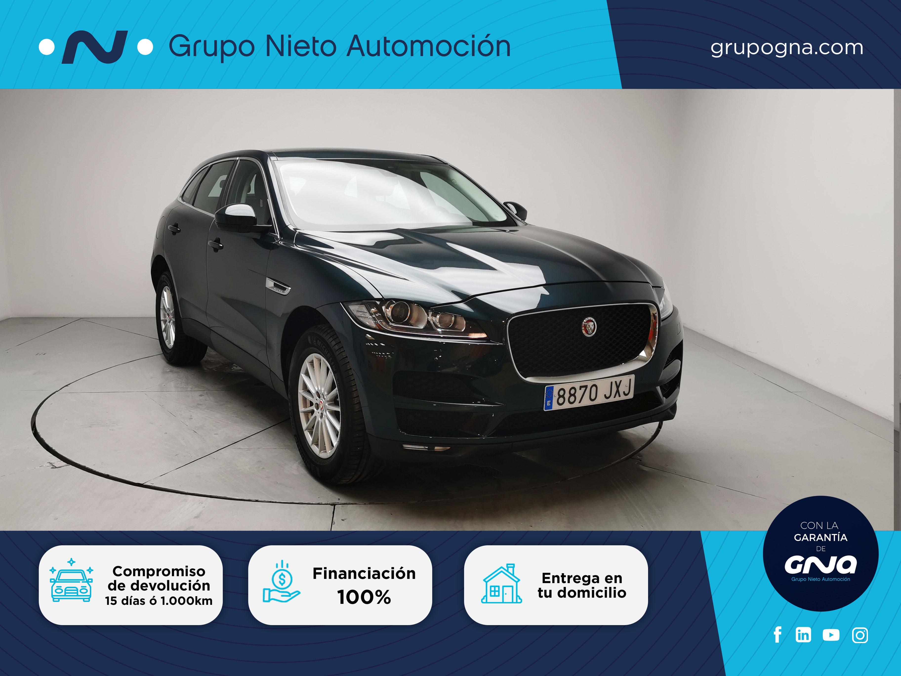 Jaguar F-Pace ocasión segunda mano 2017 Diésel por 33.900€ en Málaga