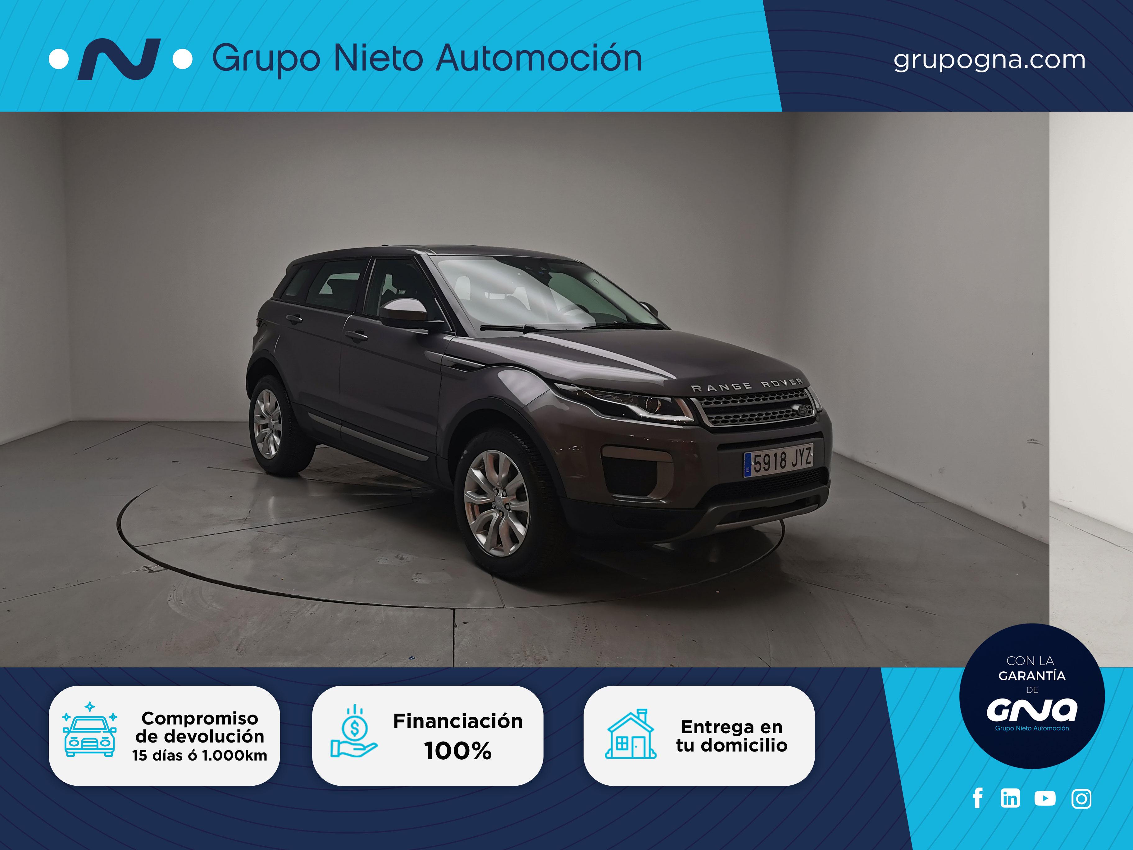 Land Rover Range Rover Evoque ocasión segunda mano 2017 Diésel por 29.500€ en Almería