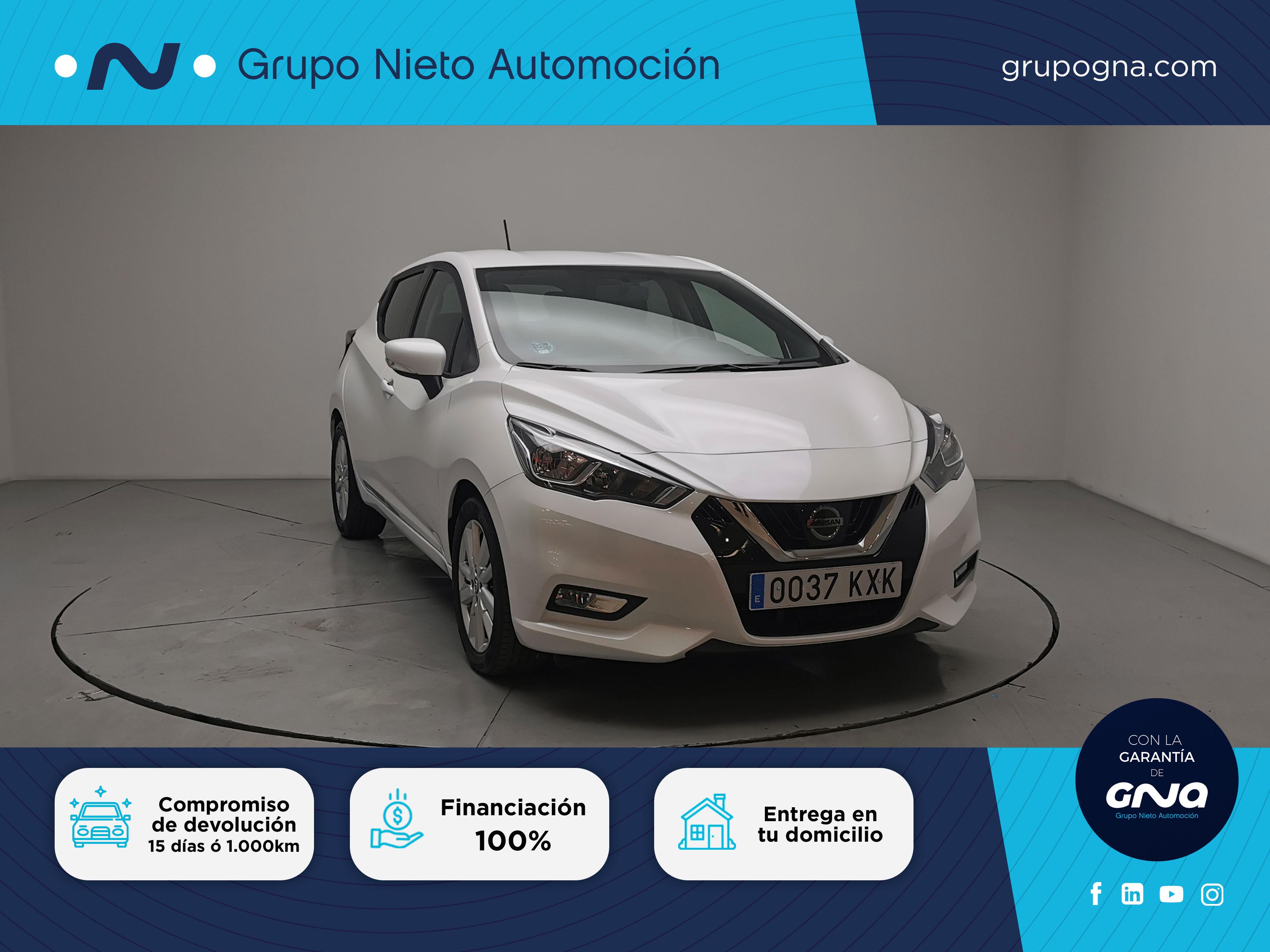 Nissan Micra ocasión segunda mano 2019 Gasolina por 12.800€ en Málaga
