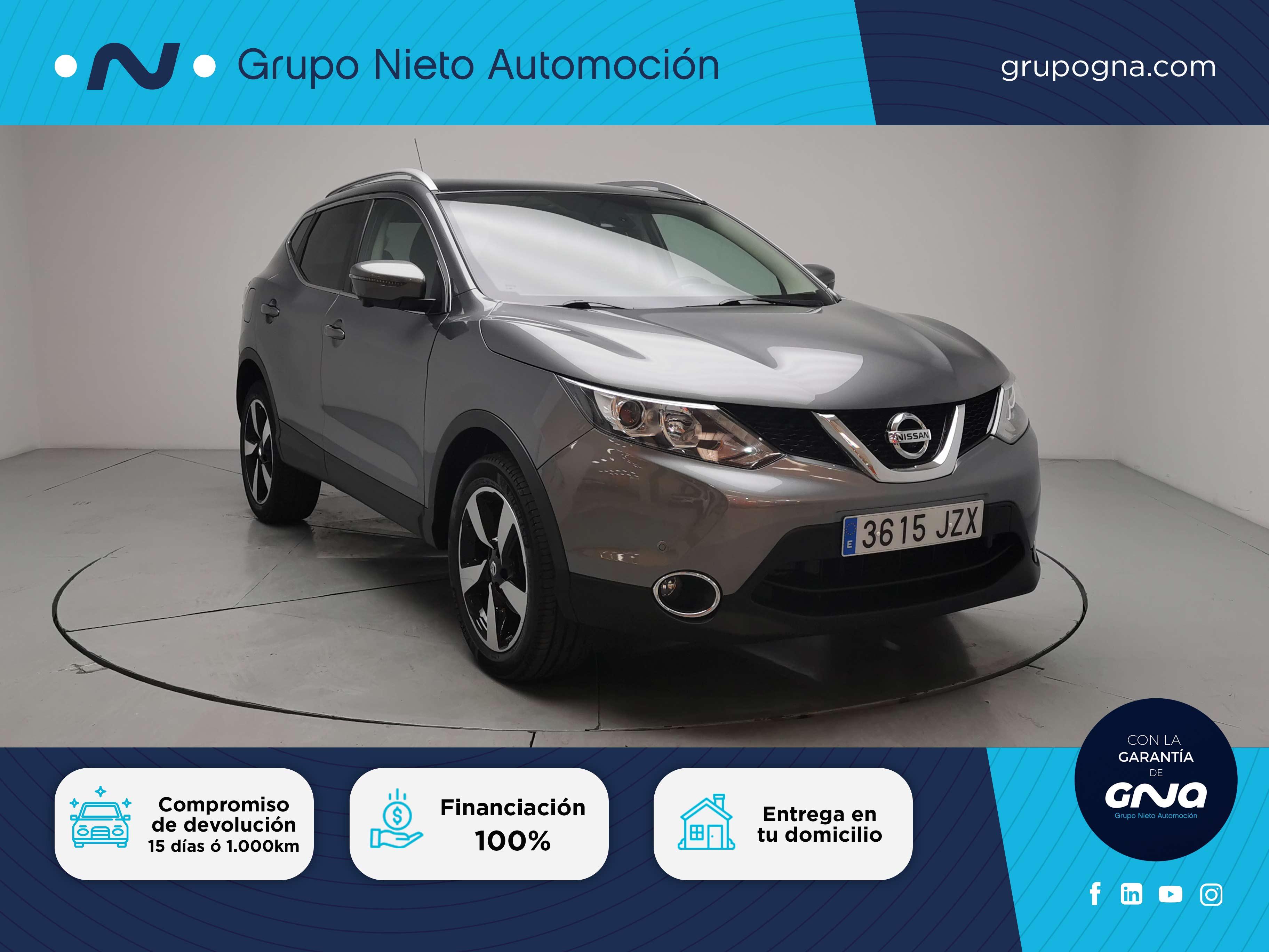 Nissan Qashqai ocasión segunda mano 2017 Gasolina por 18.800€ en Málaga