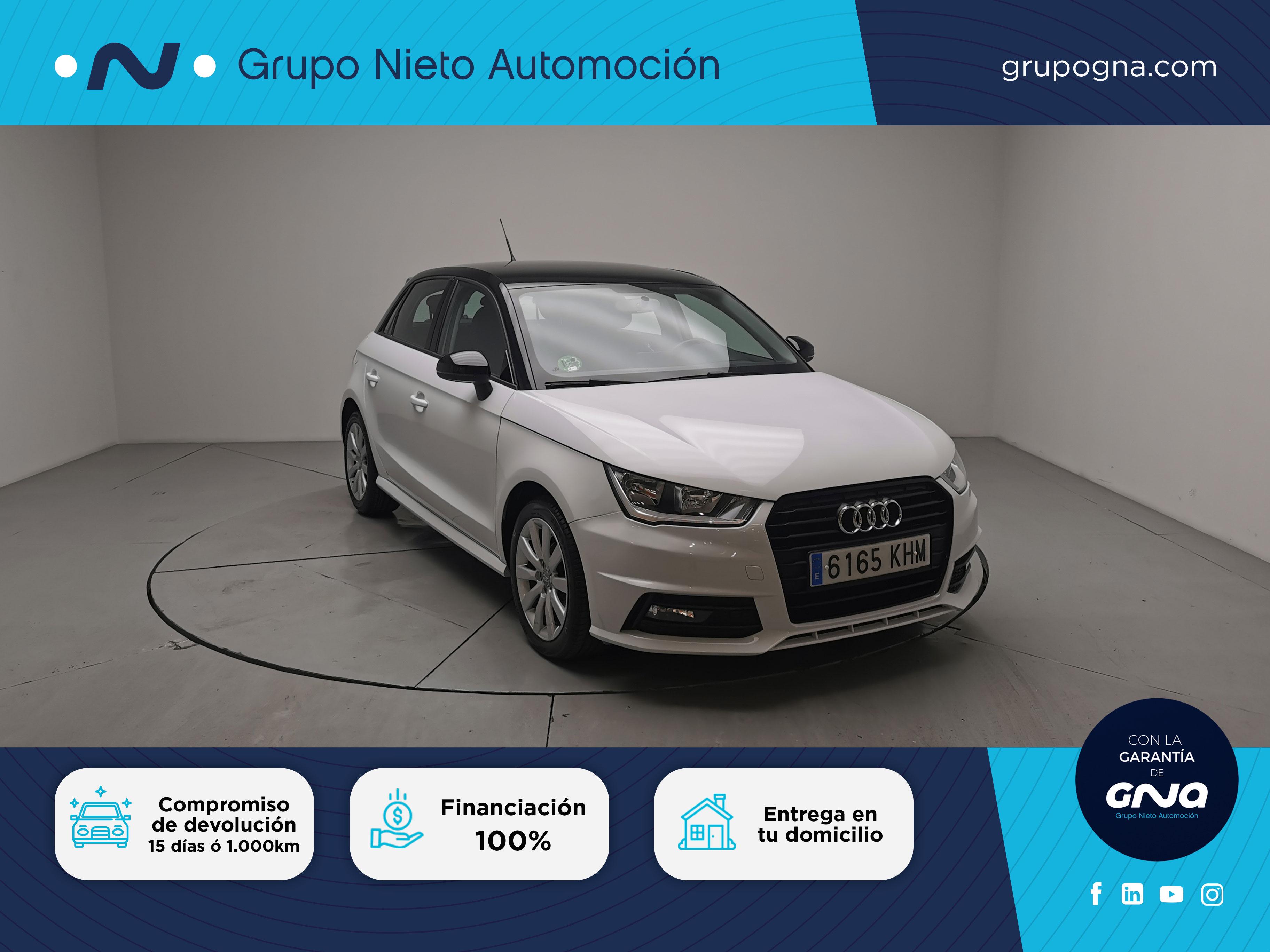 Audi A1 ocasión segunda mano 2018 Gasolina por 17.500€ en Málaga