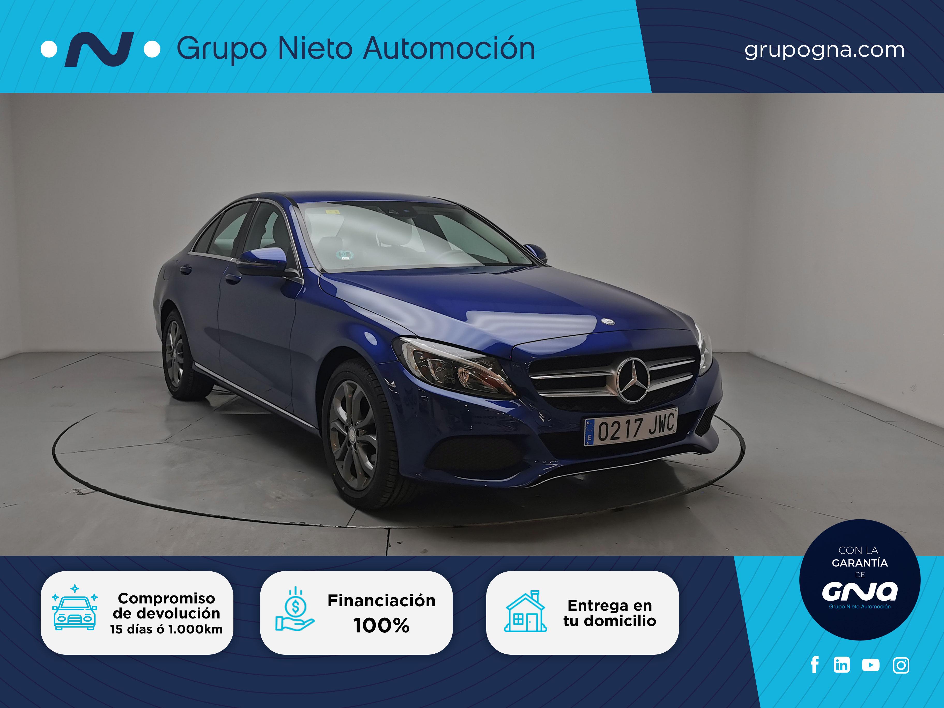 Mercedes Benz Clase C ocasión segunda mano 2017 Diésel por 26.900€ en Málaga