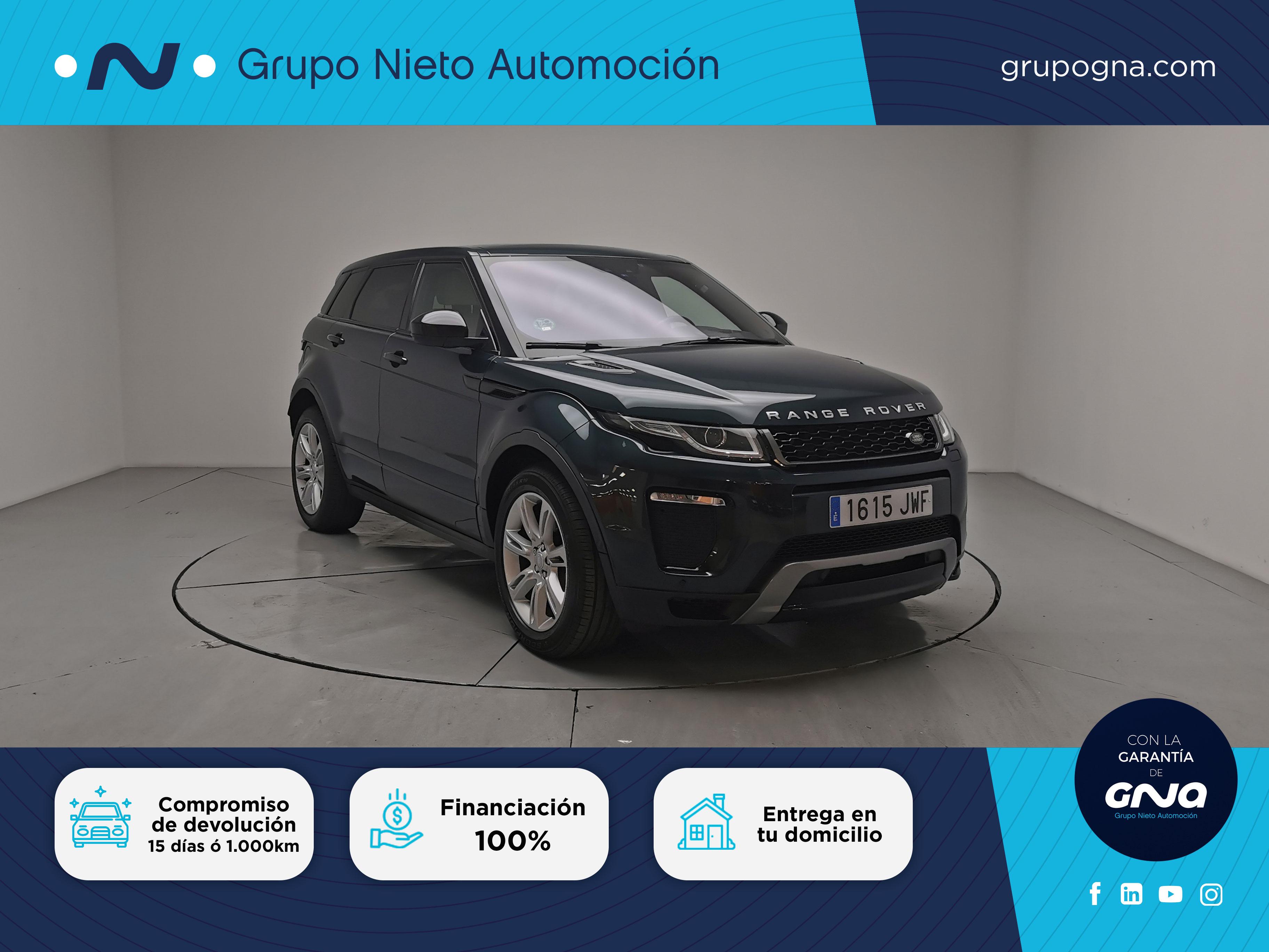 Land Rover Range Rover Evoque ocasión segunda mano 2017 Diésel por 33.900€ en Málaga