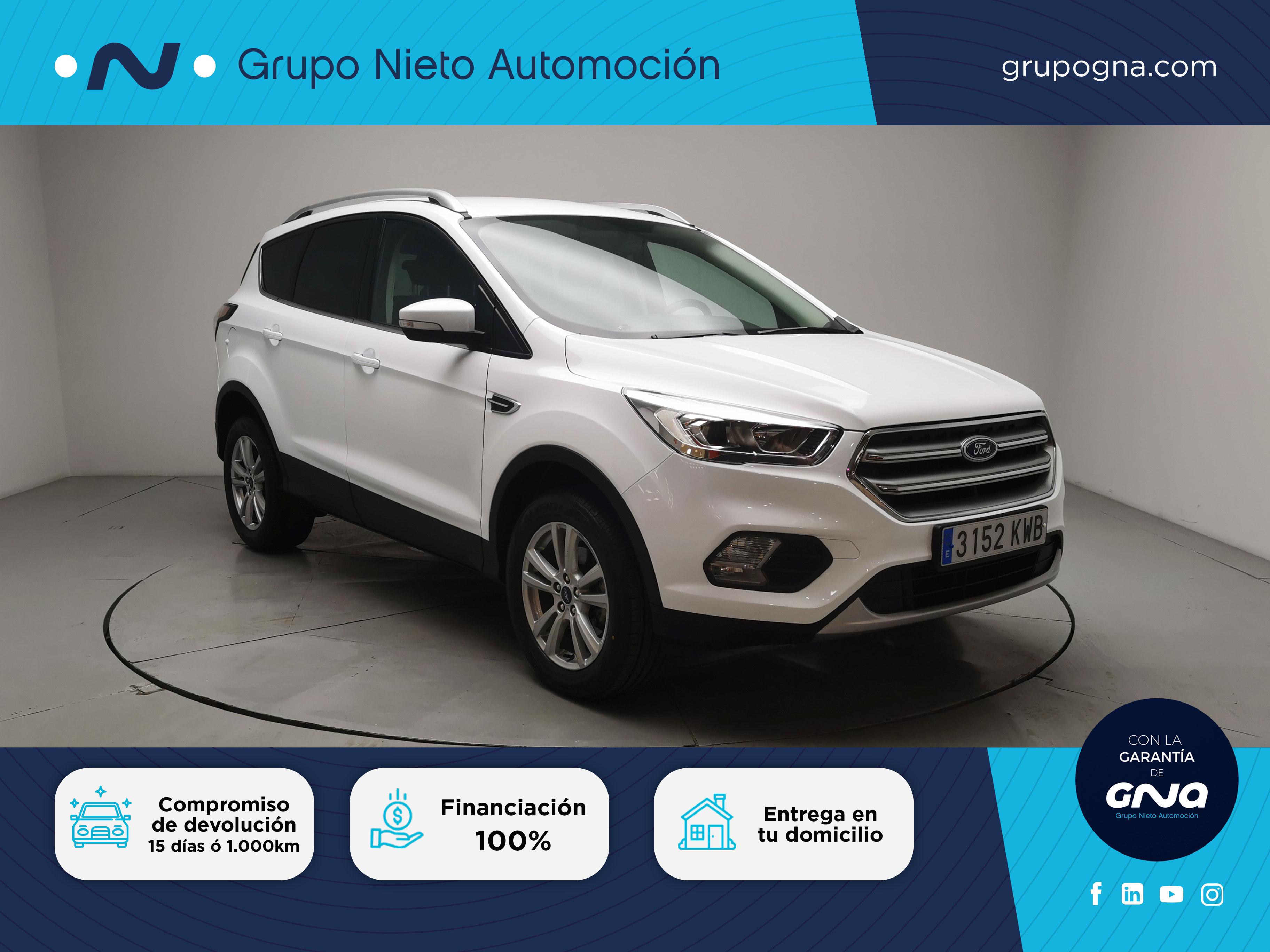Ford Kuga ocasión segunda mano 2019 Gasolina por 18.800€ en Málaga