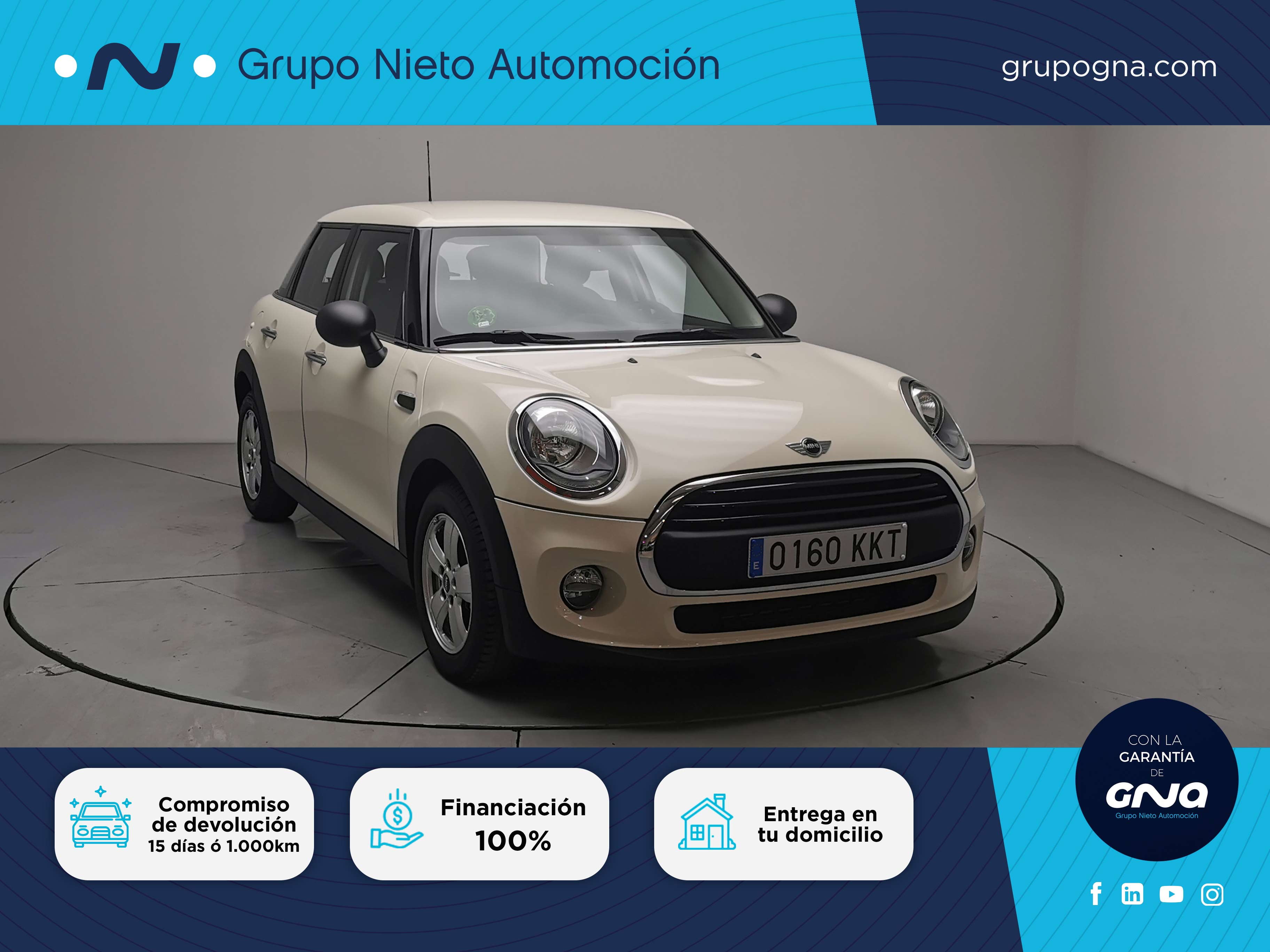 Mini Mini ocasión segunda mano 2018 Gasolina por 16.900€ en Málaga