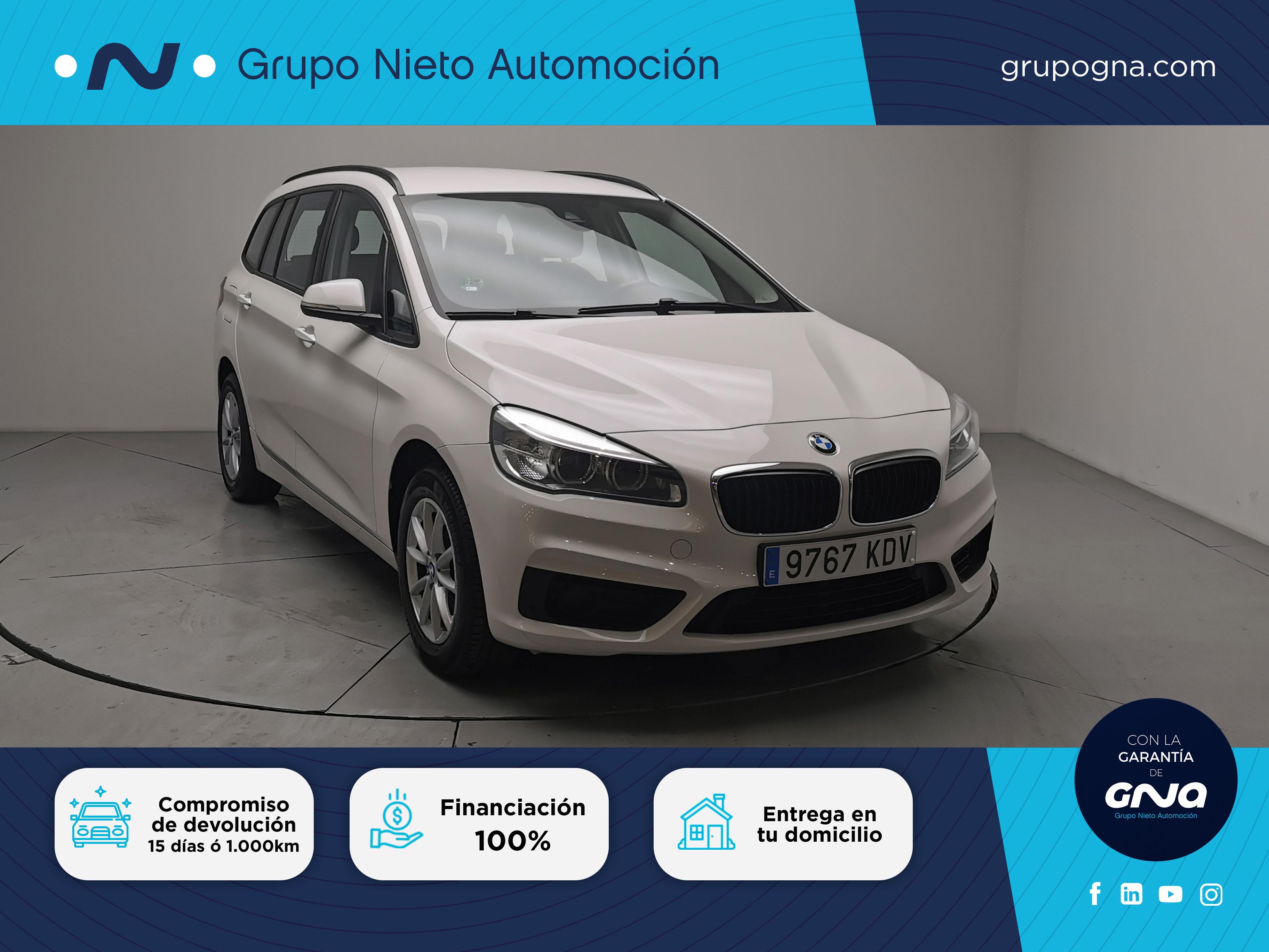 BMW Serie 2 Gran Tourer ocasión segunda mano 2017 Diésel por 18.500€ en Málaga