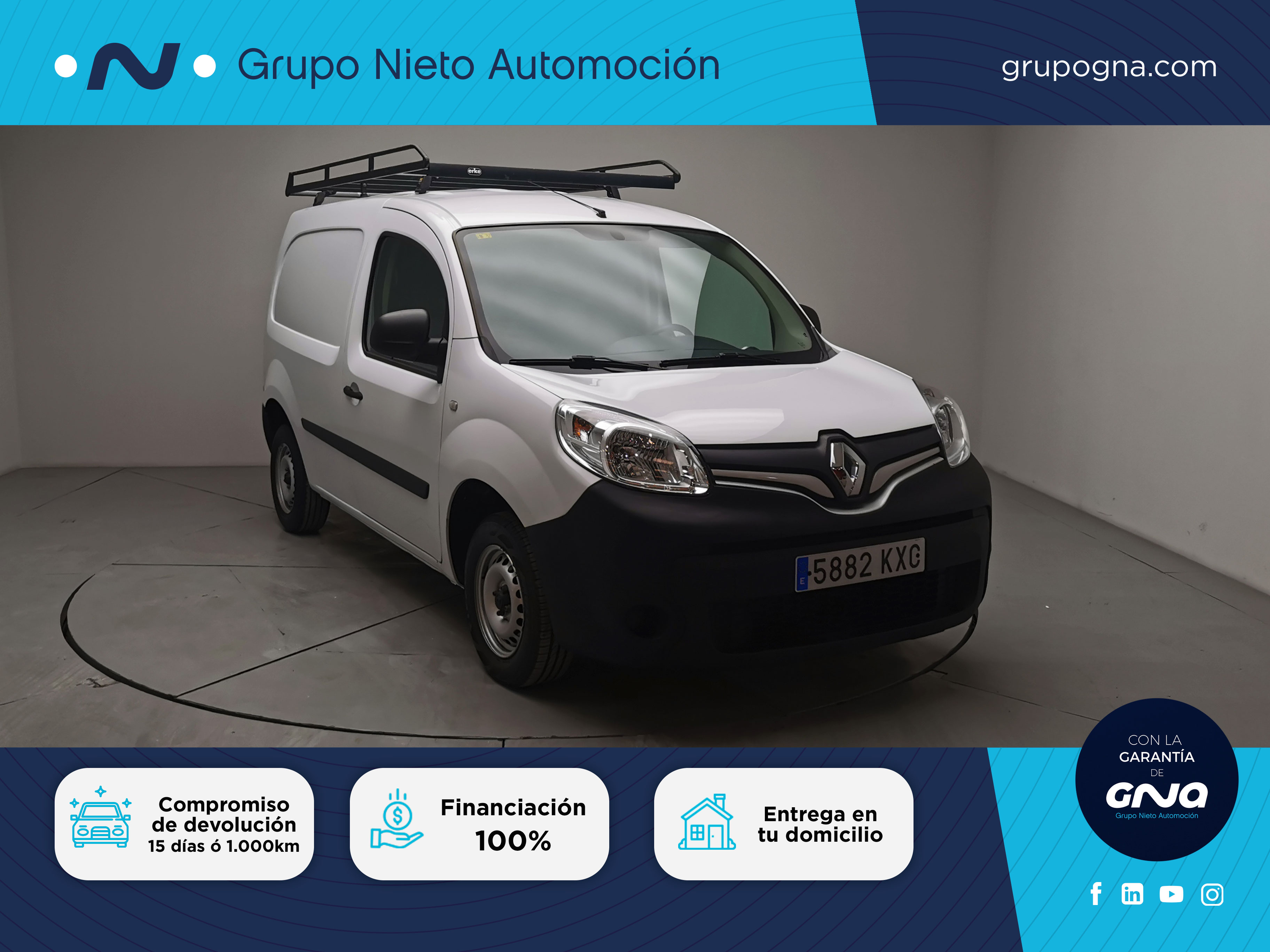 Renault Kangoo ocasión segunda mano 2019 Diésel por 10.900€ en Málaga