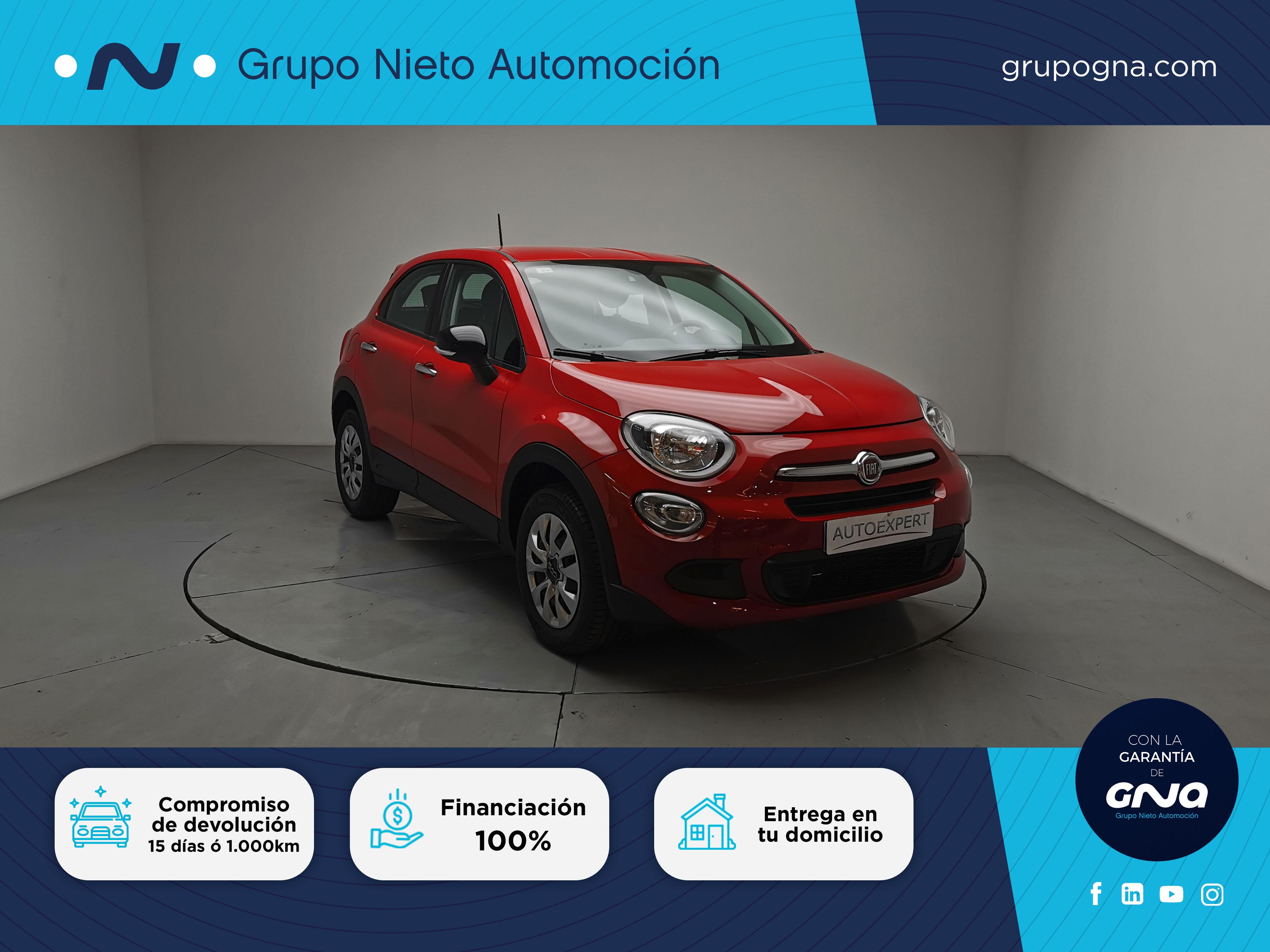 Fiat 500X ocasión segunda mano 2017 Gasolina por 15.500€ en Málaga