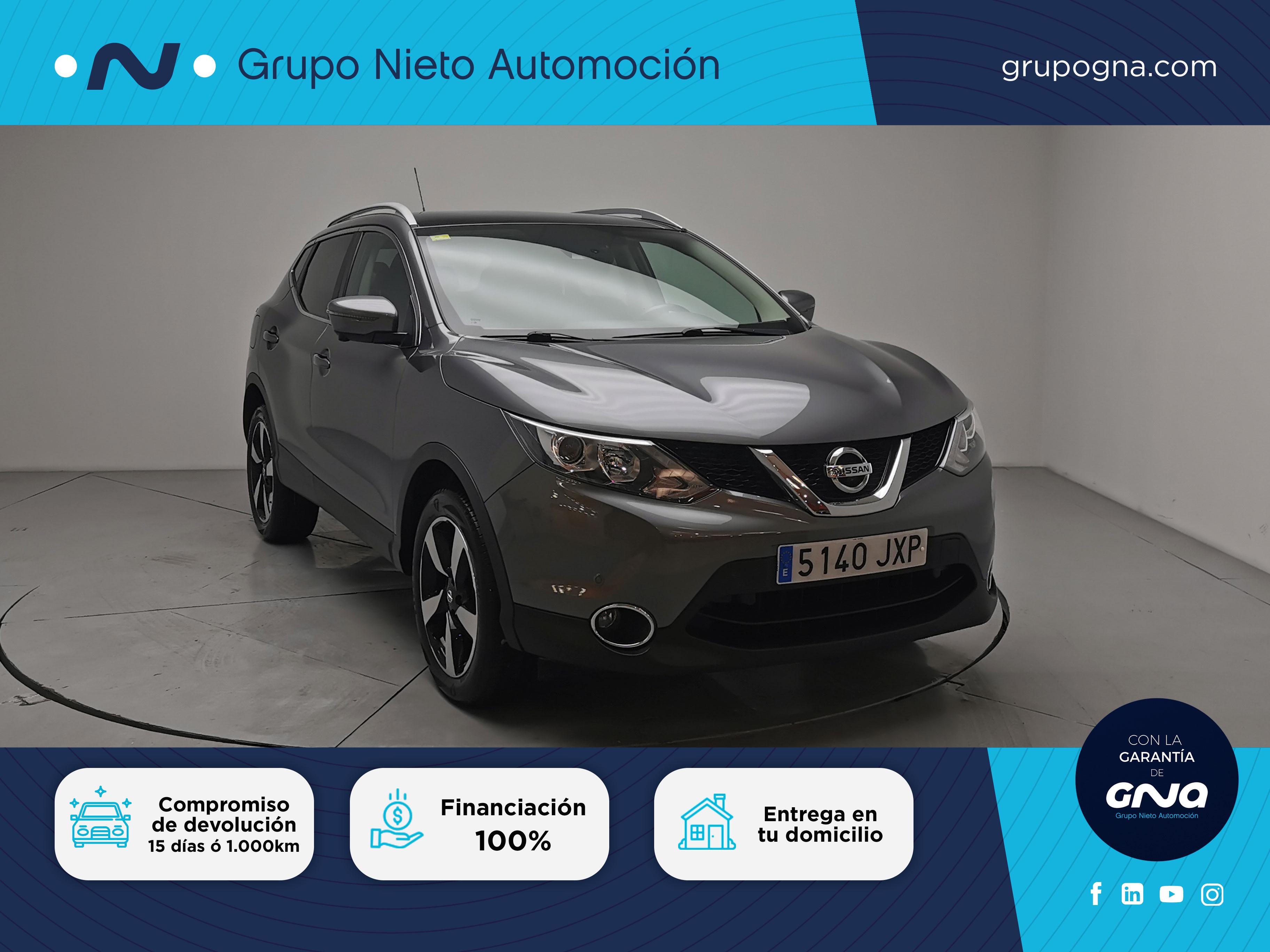 Nissan Qashqai ocasión segunda mano 2017 Diésel por 19.900€ en Málaga