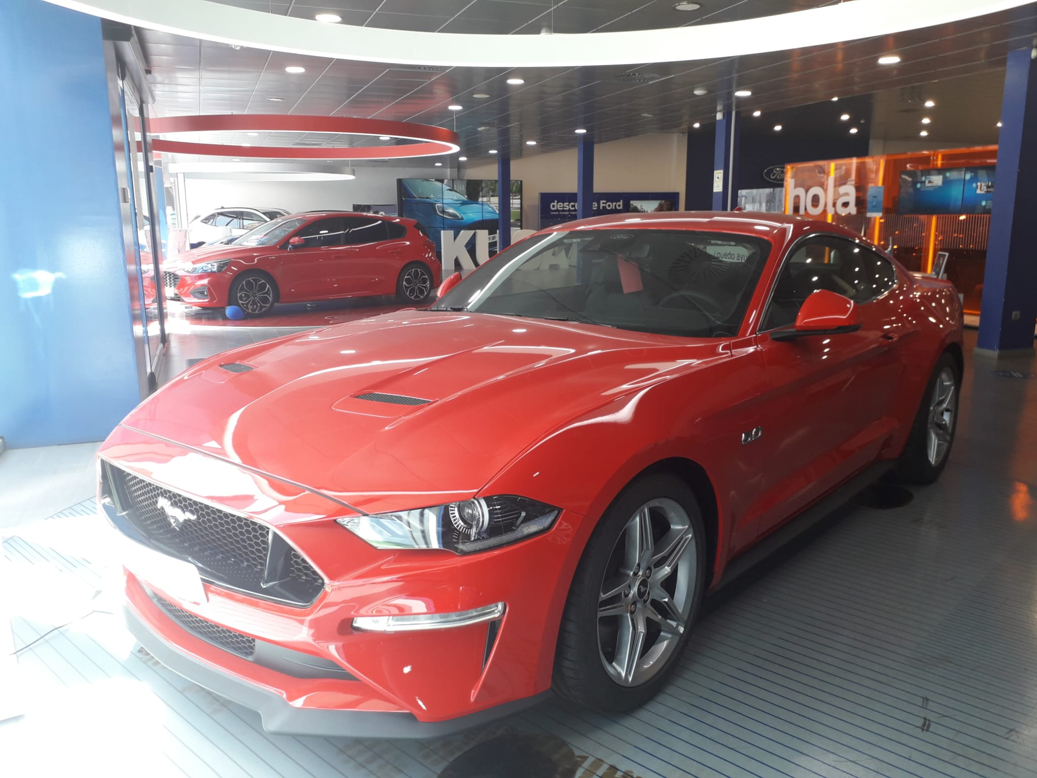 Ford Mustang ocasión segunda mano 2021 Gasolina por 48.500€ en Málaga