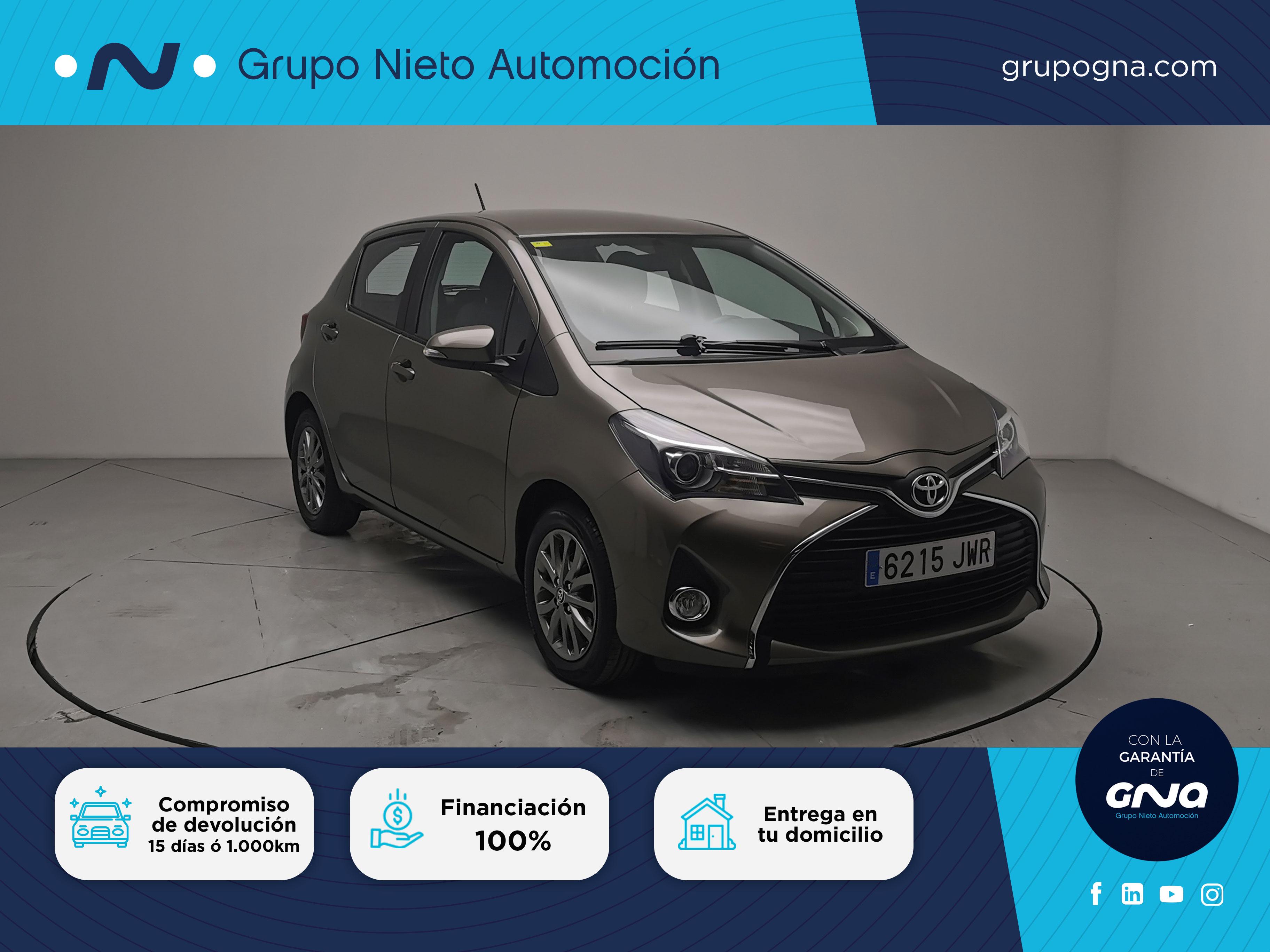 Toyota Yaris ocasión segunda mano 2017 Gasolina por 13.900€ en Málaga
