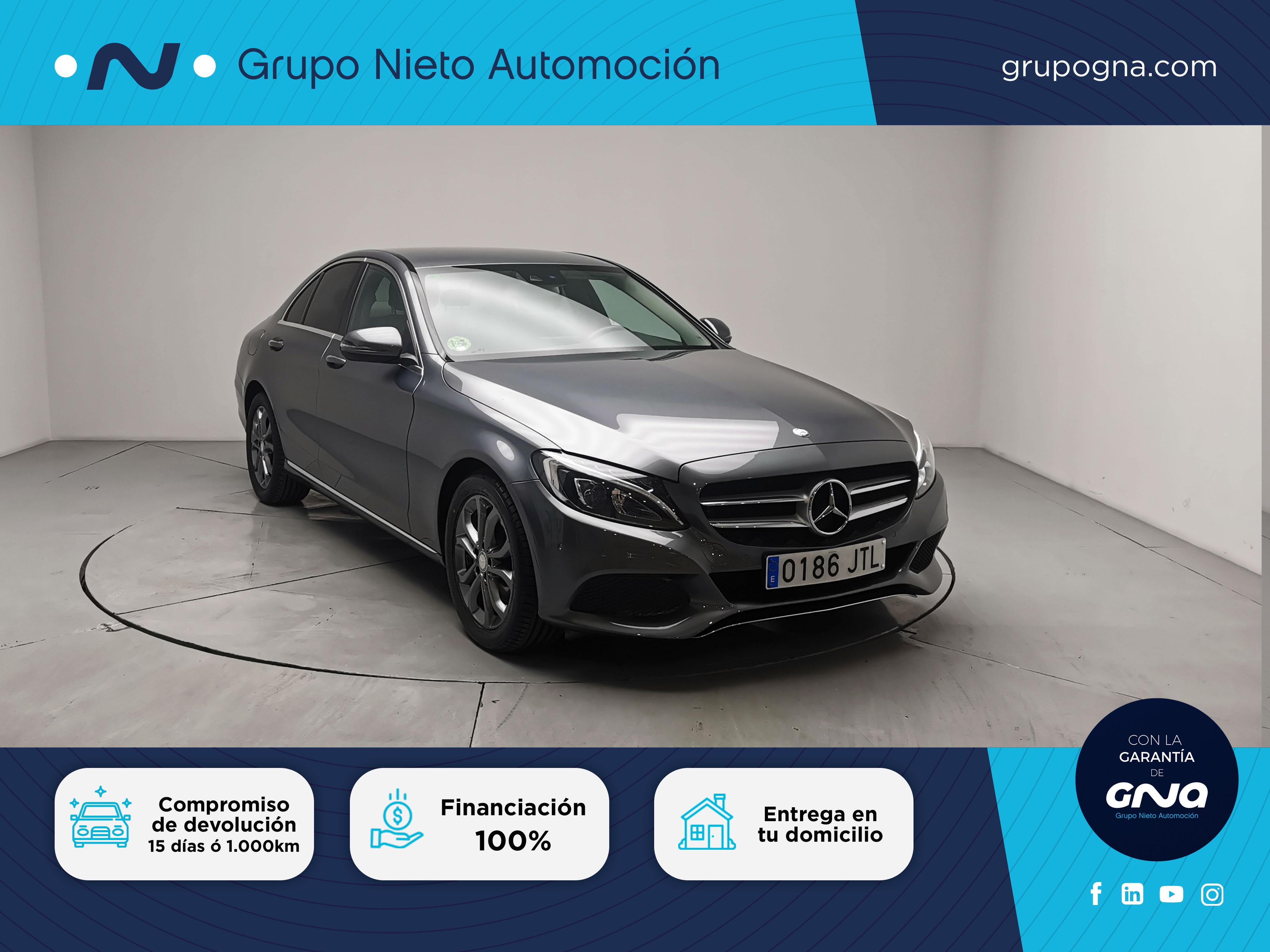 Mercedes Benz Clase C ocasión segunda mano 2016 Diésel por 22.900€ en Málaga