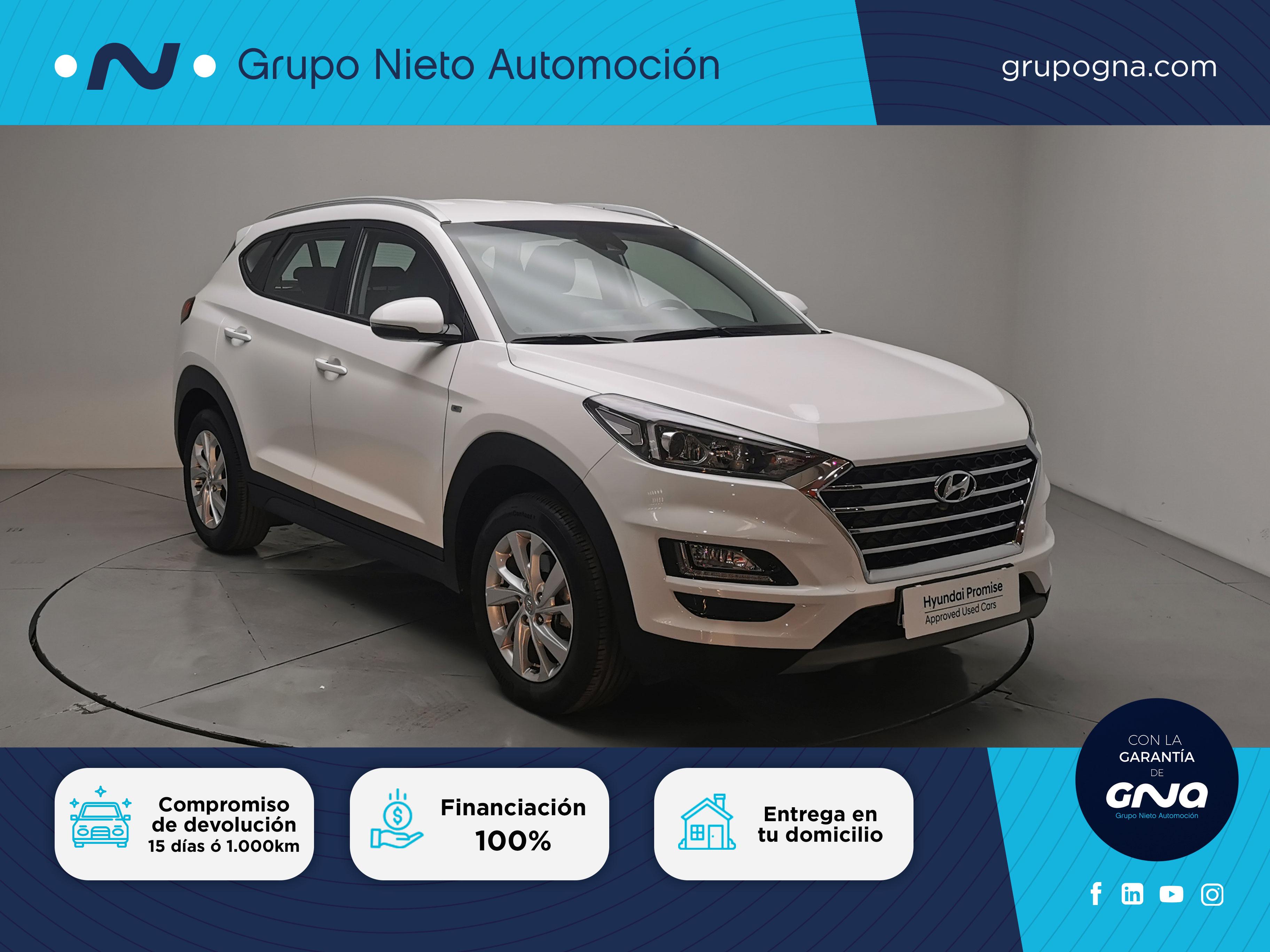 Hyundai Tucson ocasión segunda mano 2019 Gasolina por 22.500€ en Málaga