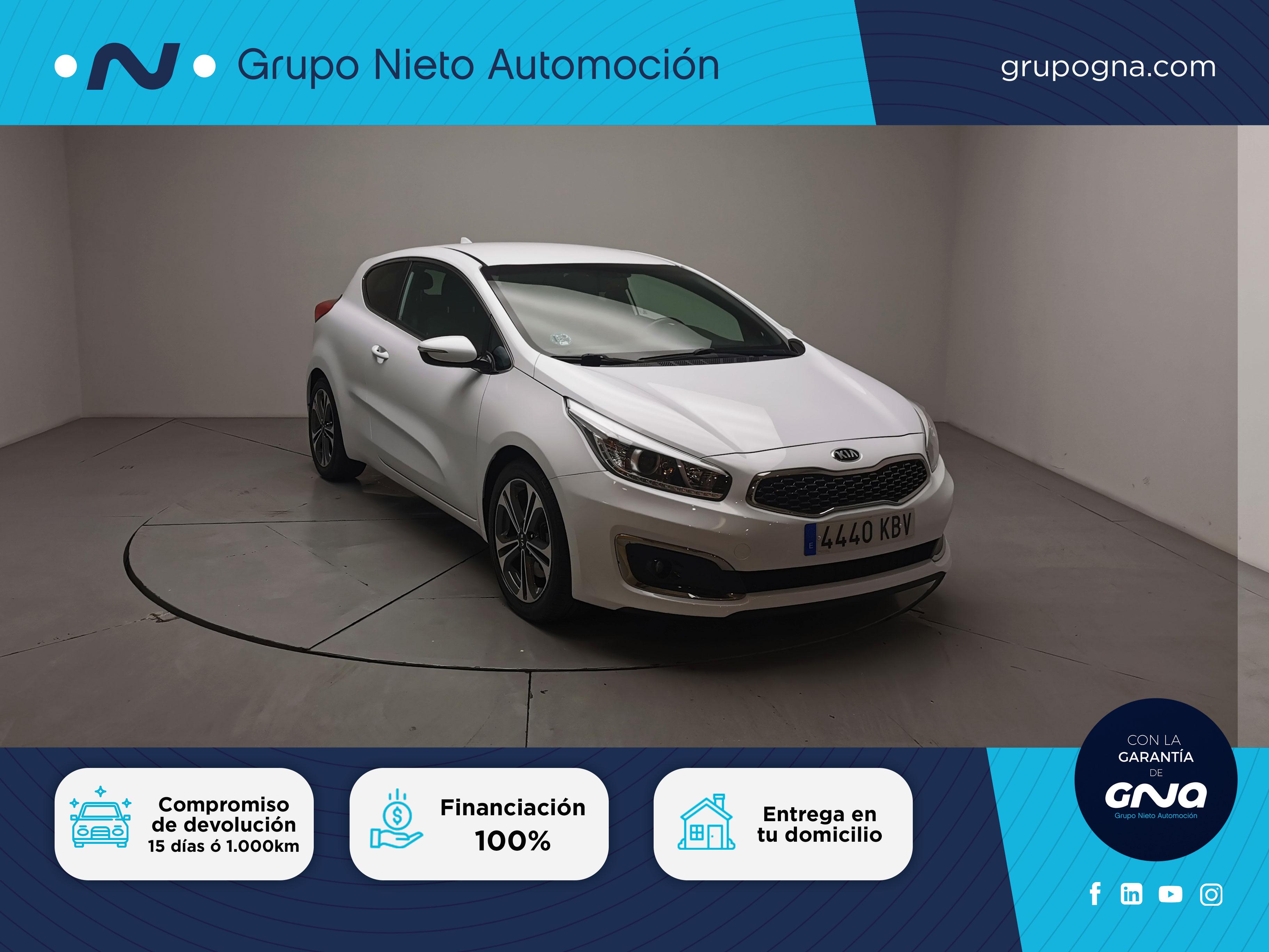 Kia Pro_Ceed ocasión segunda mano 2017 Gasolina por 14.400€ en Málaga
