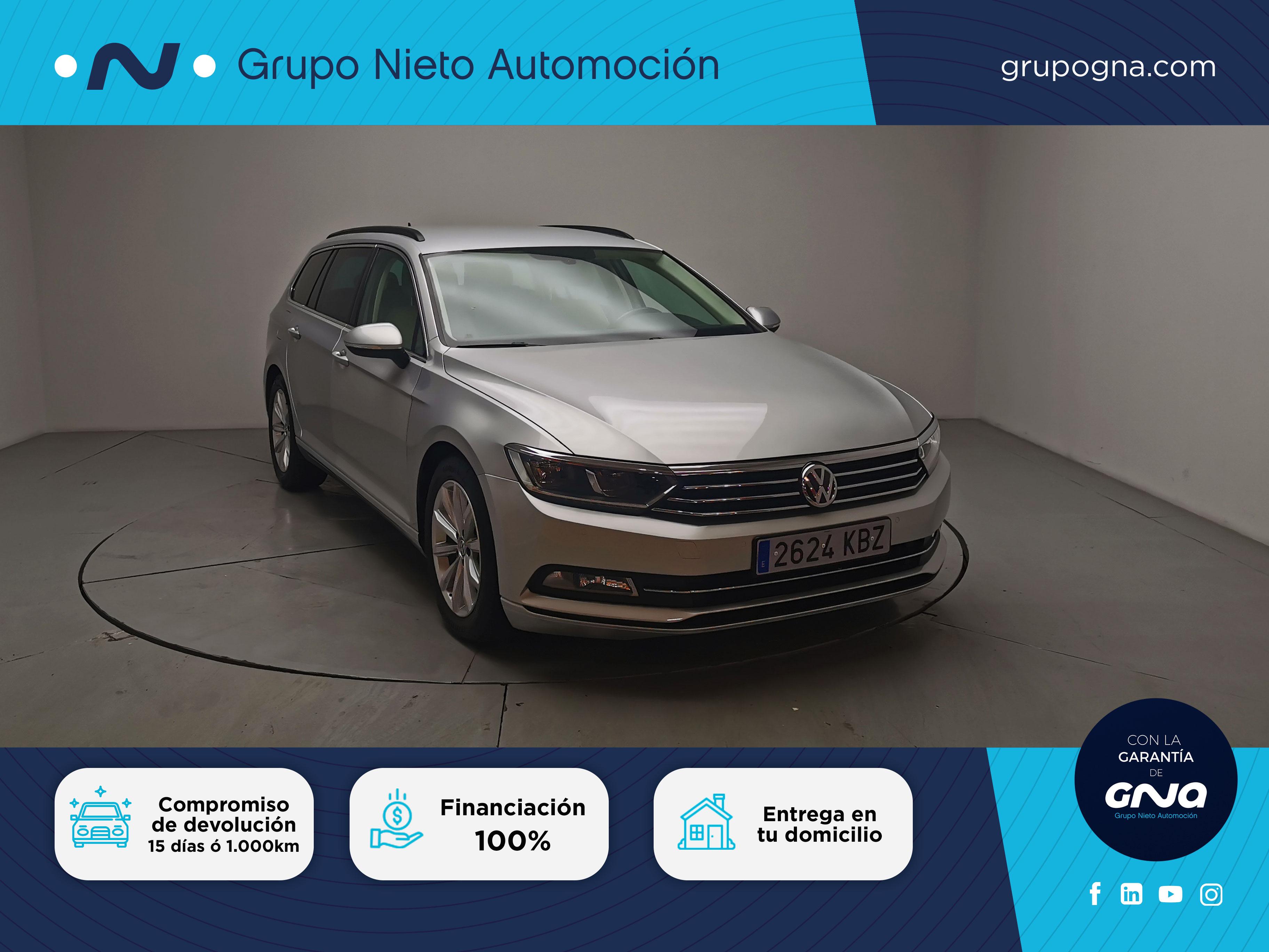 Volkswagen Passat ocasión segunda mano 2017 Diésel por 18.500€ en Málaga