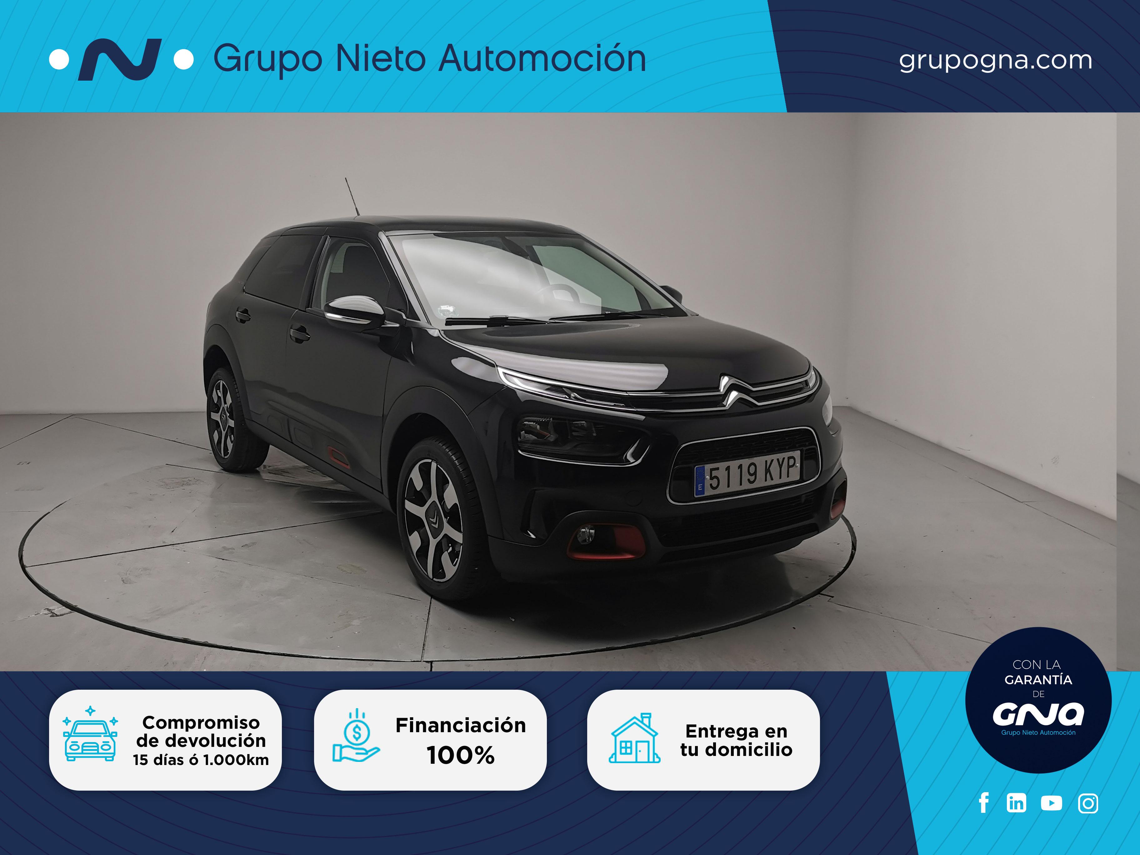Citroën C4 Cactus ocasión segunda mano 2019 Diésel por 16.500€ en Málaga