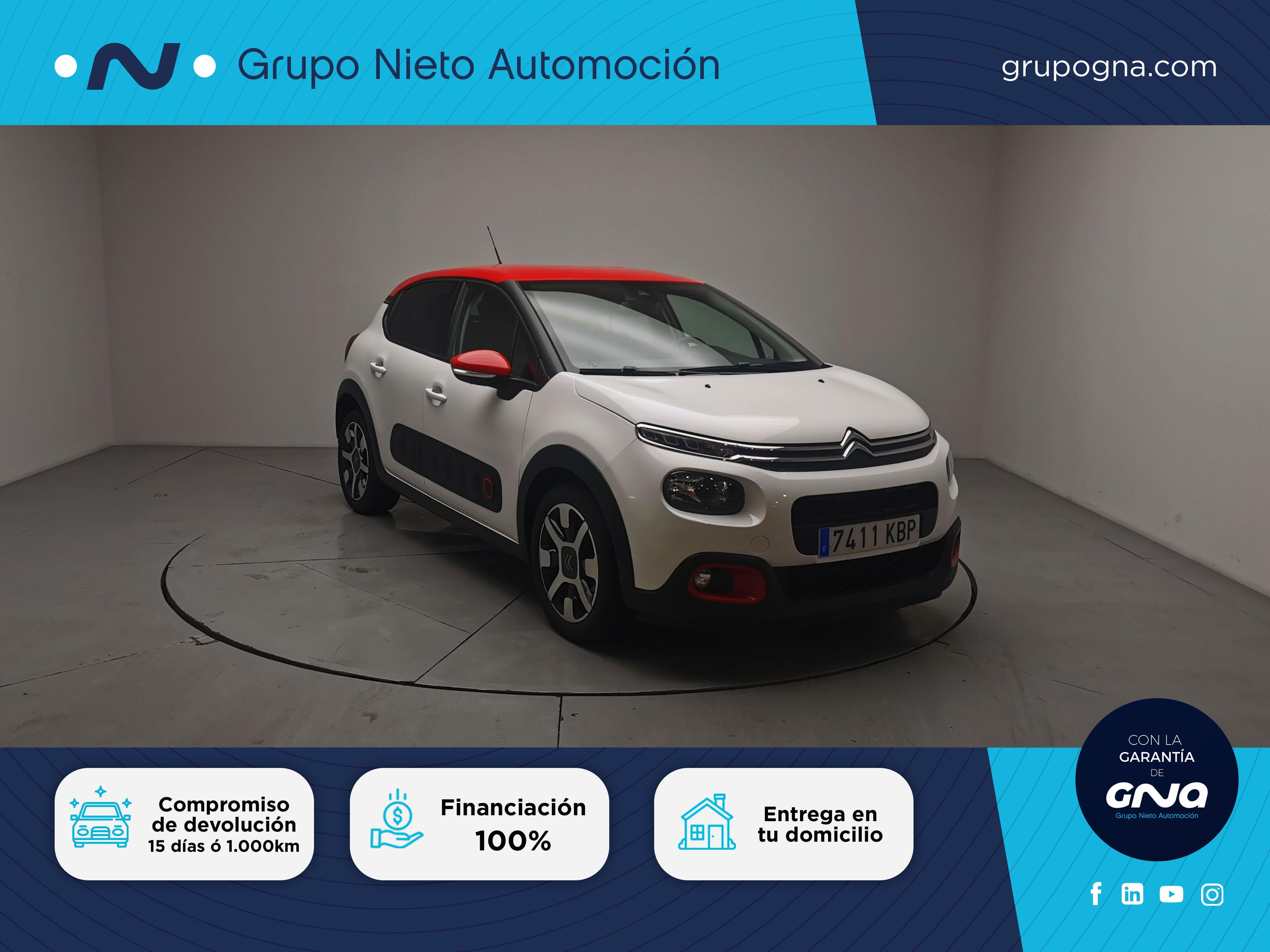 Citroën C3 ocasión segunda mano 2017 Diésel por 11.900€ en Málaga