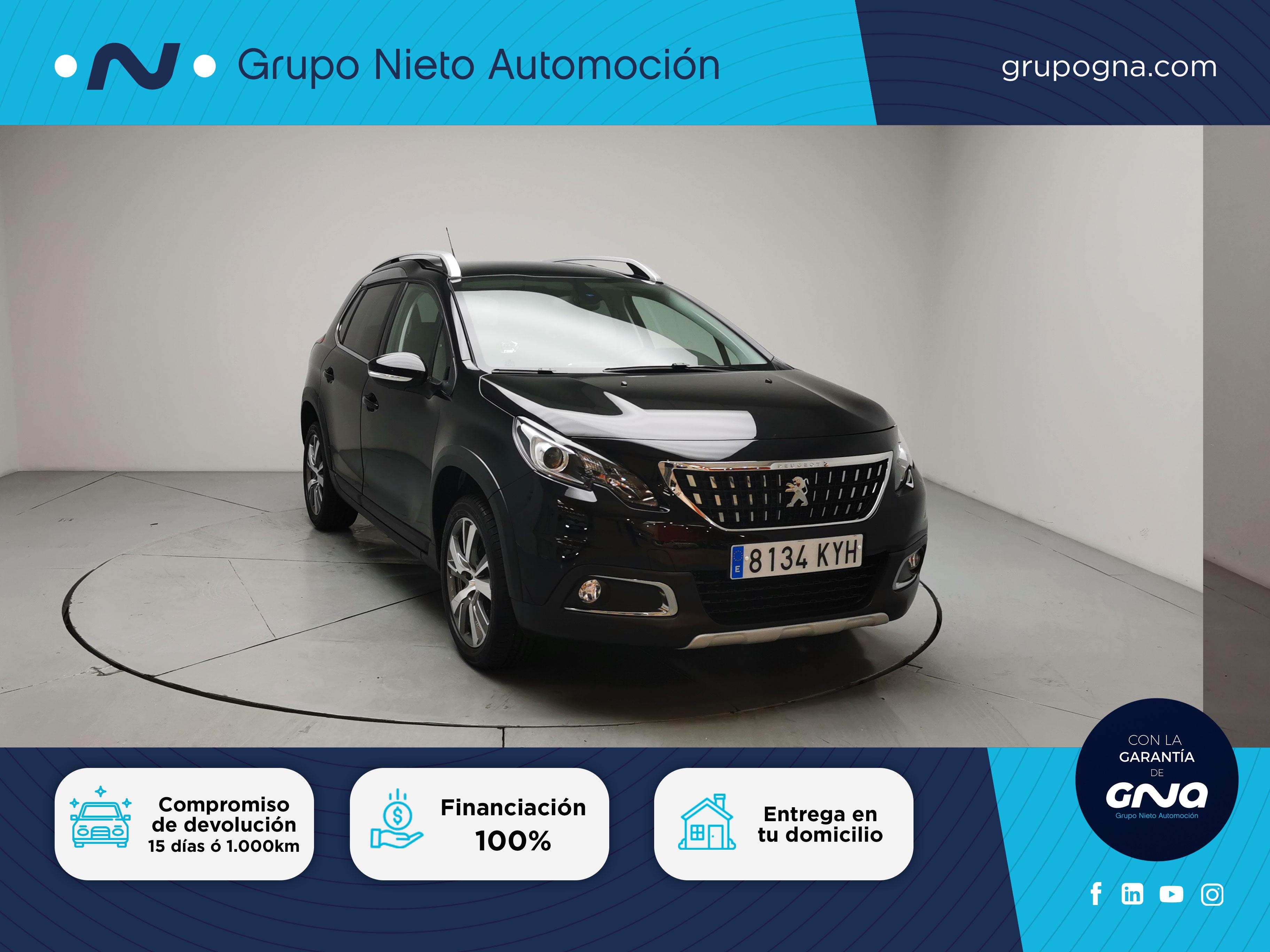 Peugeot 2008 ocasión segunda mano 2019 Gasolina por 17.900€ en Málaga