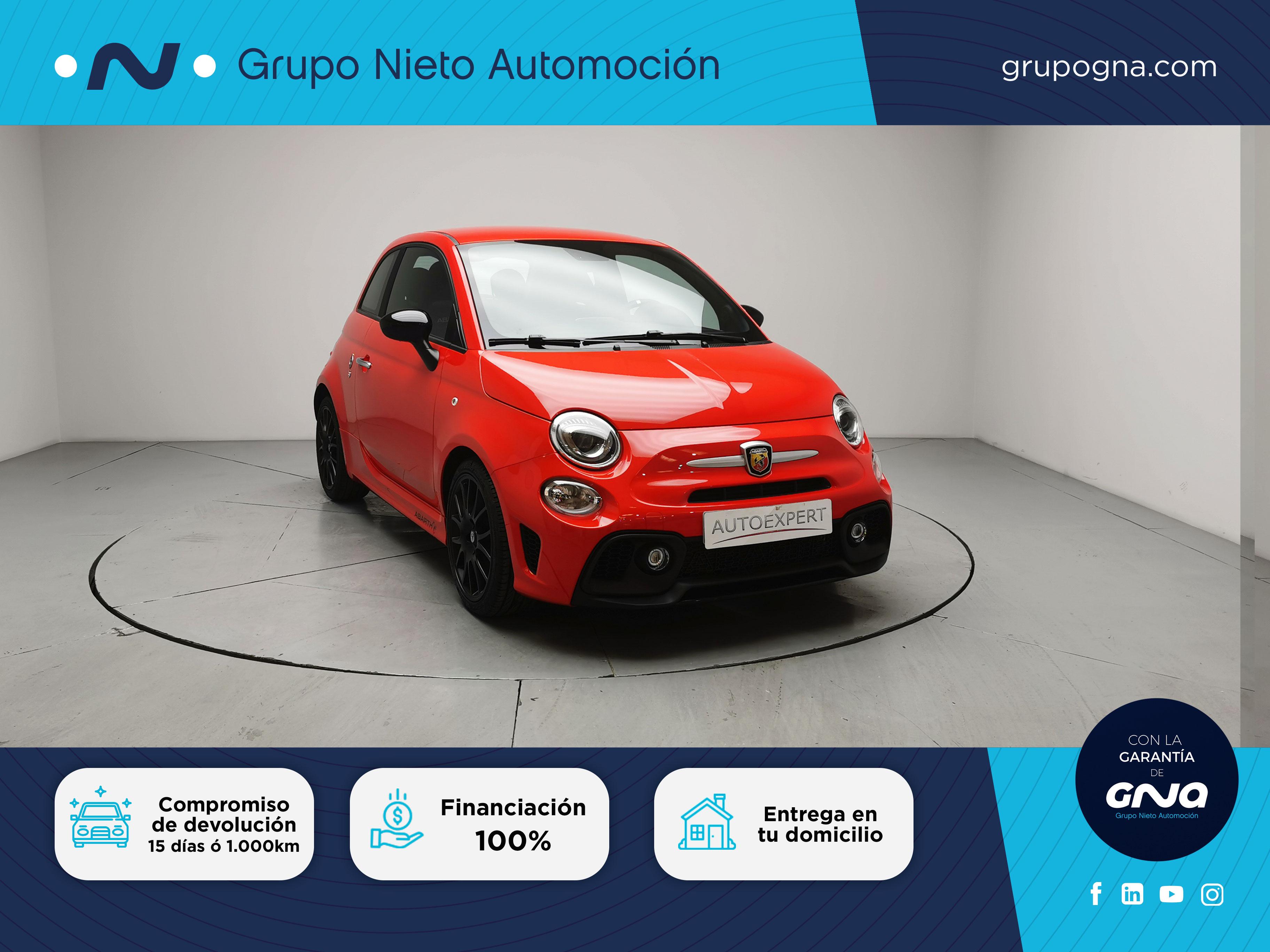 Abarth 500 ocasión segunda mano 2020 Gasolina por 19.900€ en Málaga