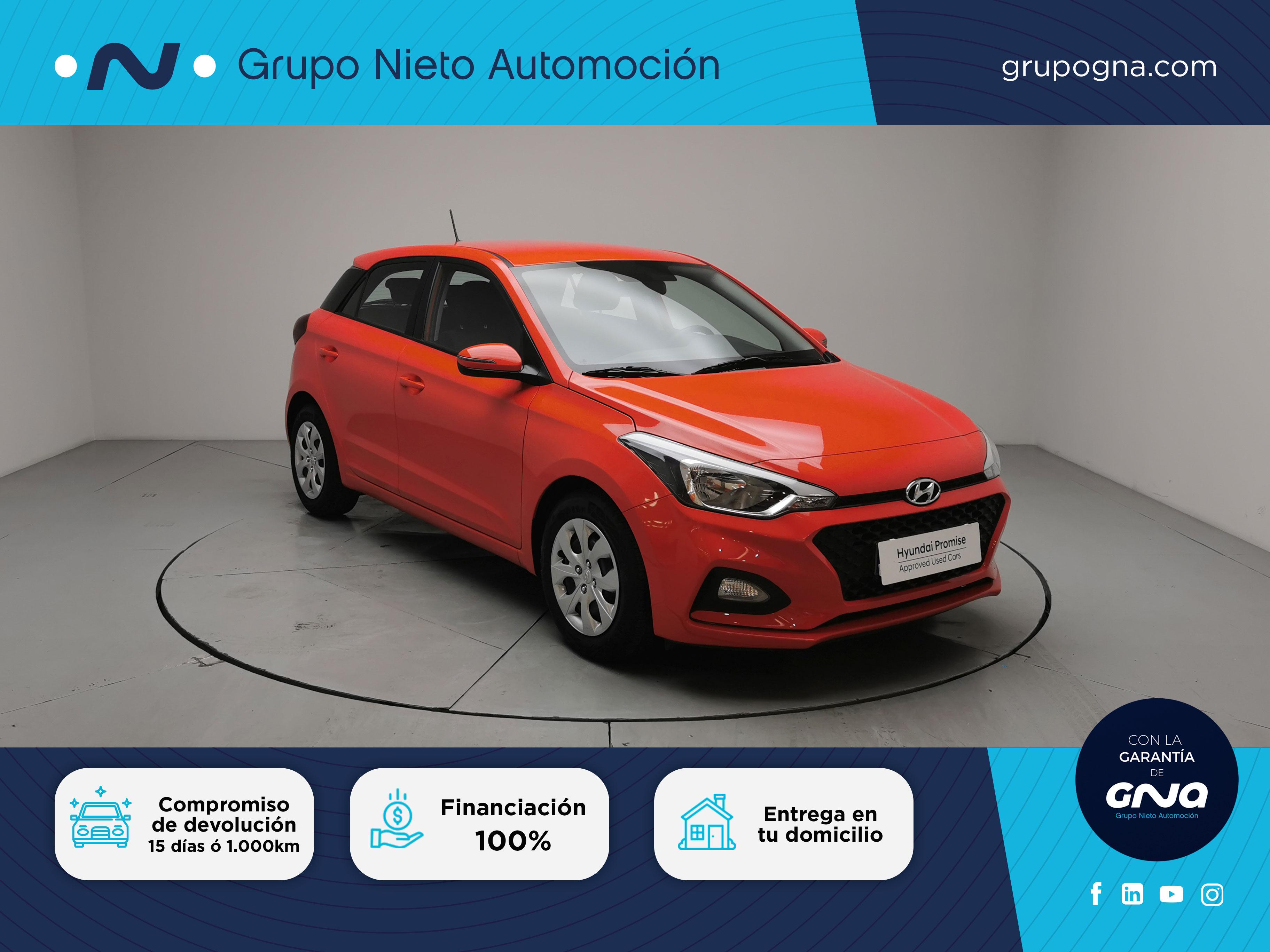 Hyundai i20 ocasión segunda mano 2020 Gasolina por 13.700€ en Málaga