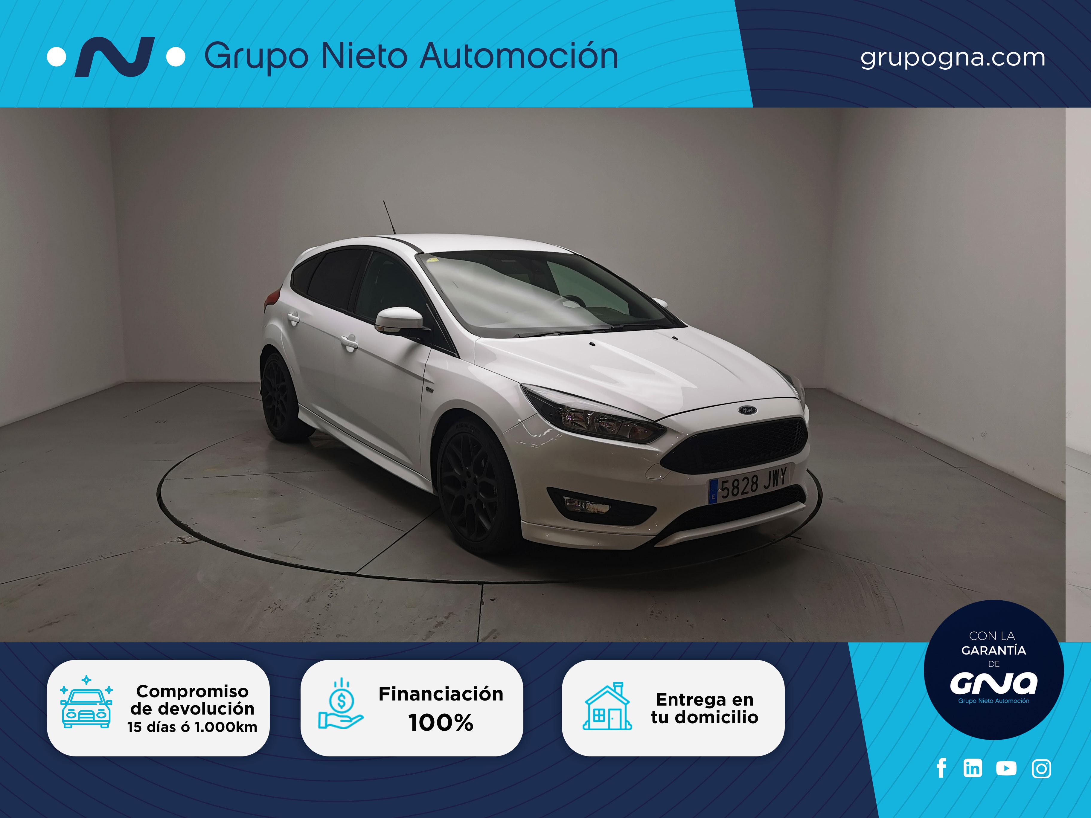 Ford Focus ocasión segunda mano 2017 Gasolina por 13.990€ en Málaga