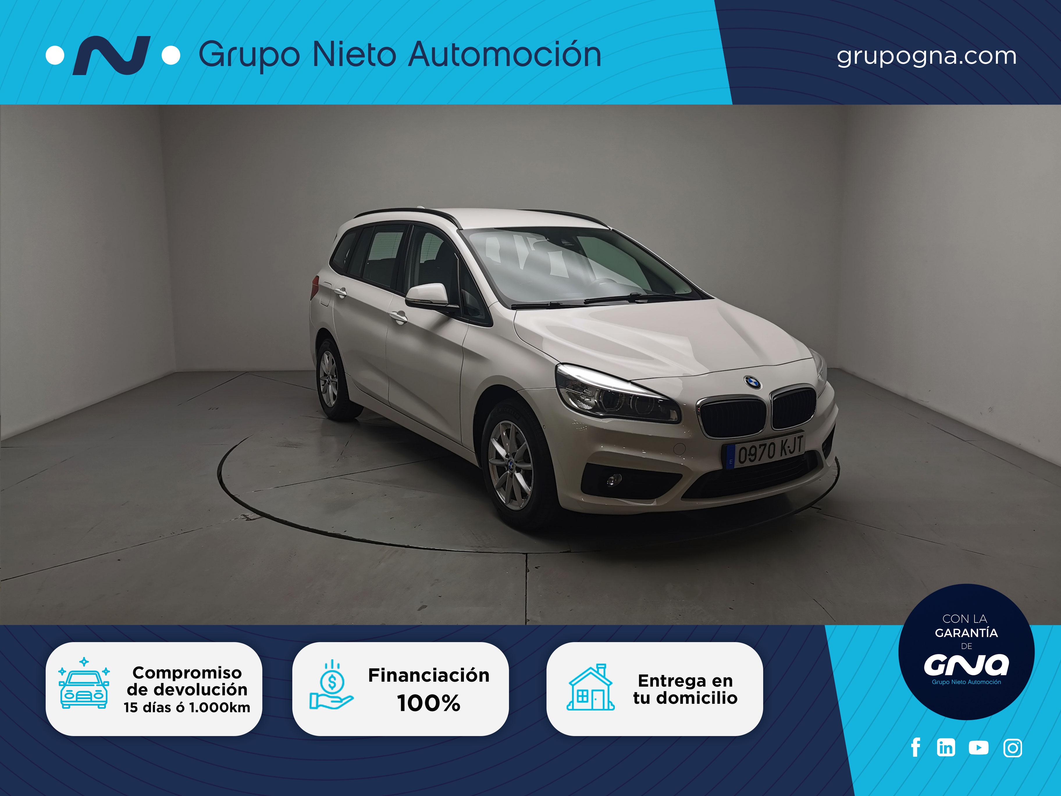 BMW Serie 2 Gran Tourer ocasión segunda mano 2018 Diésel por 19.500€ en Málaga