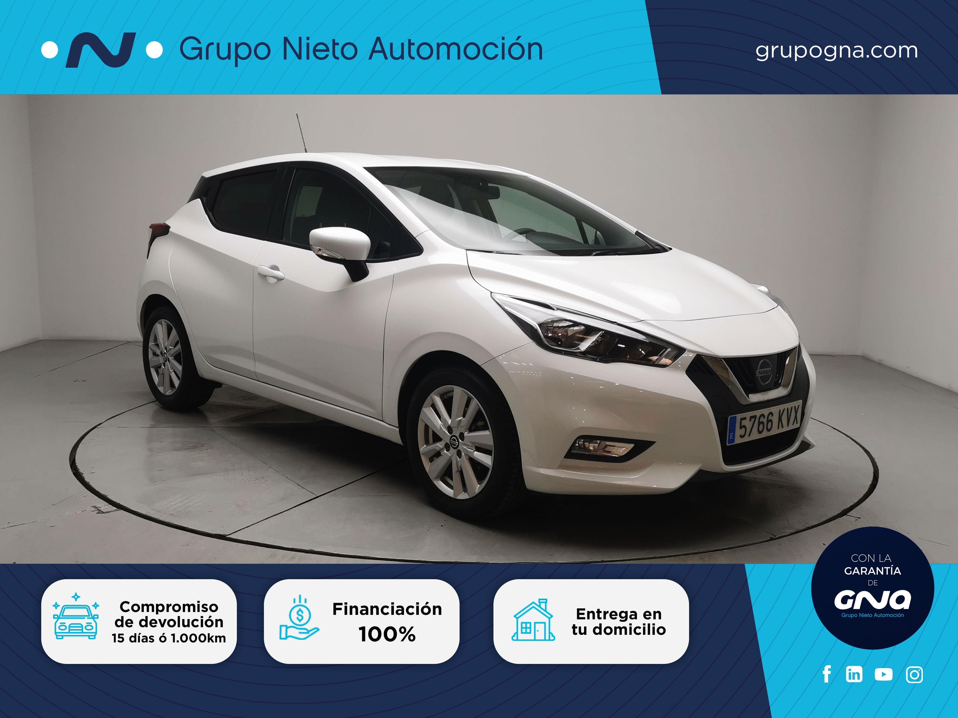 Nissan Micra ocasión segunda mano 2019 Gasolina por 13.990€ en Málaga