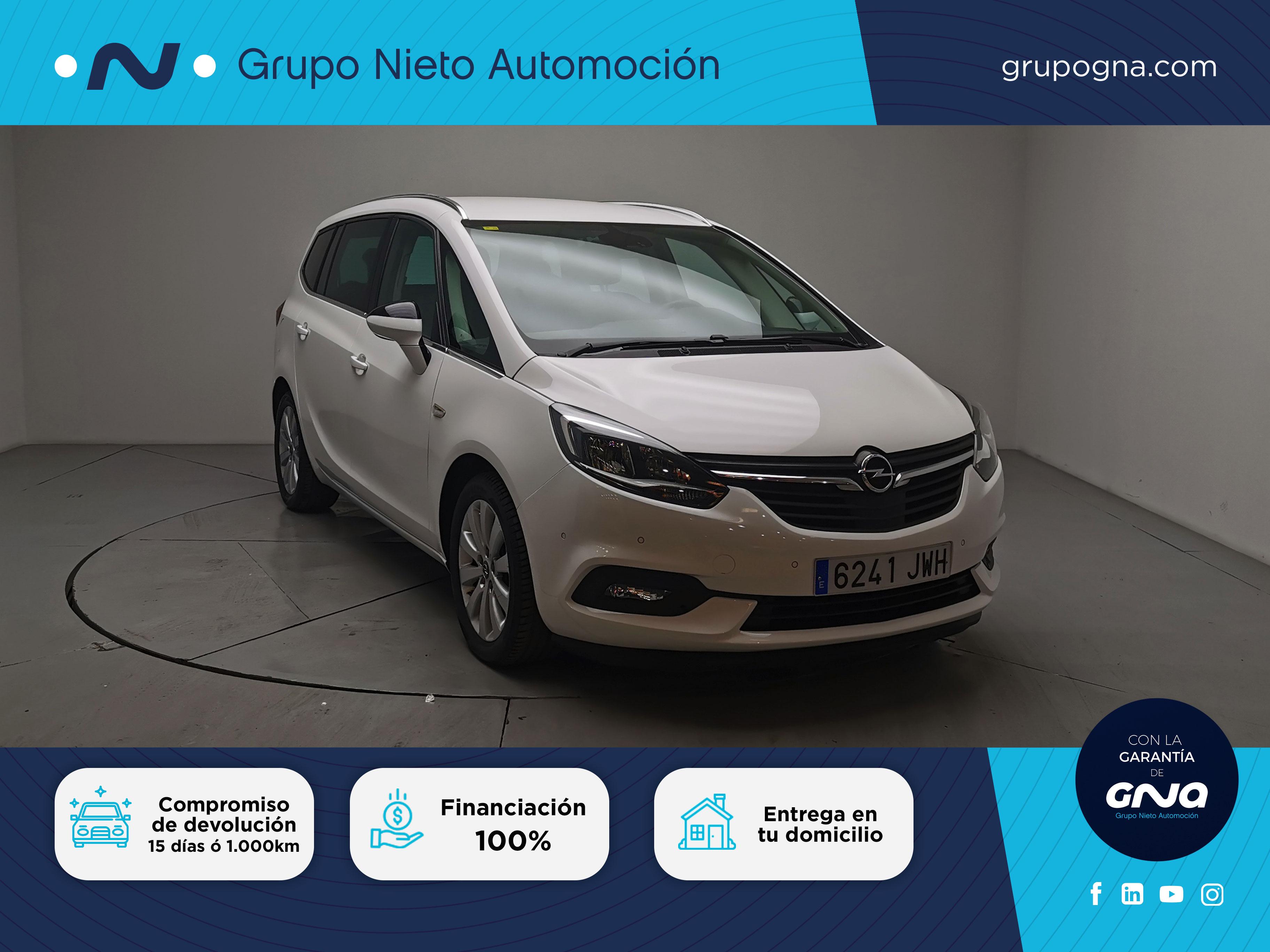 Opel Zafira  Tourer    ocasión segunda mano 2017 Diésel por 16.800€ en Málaga