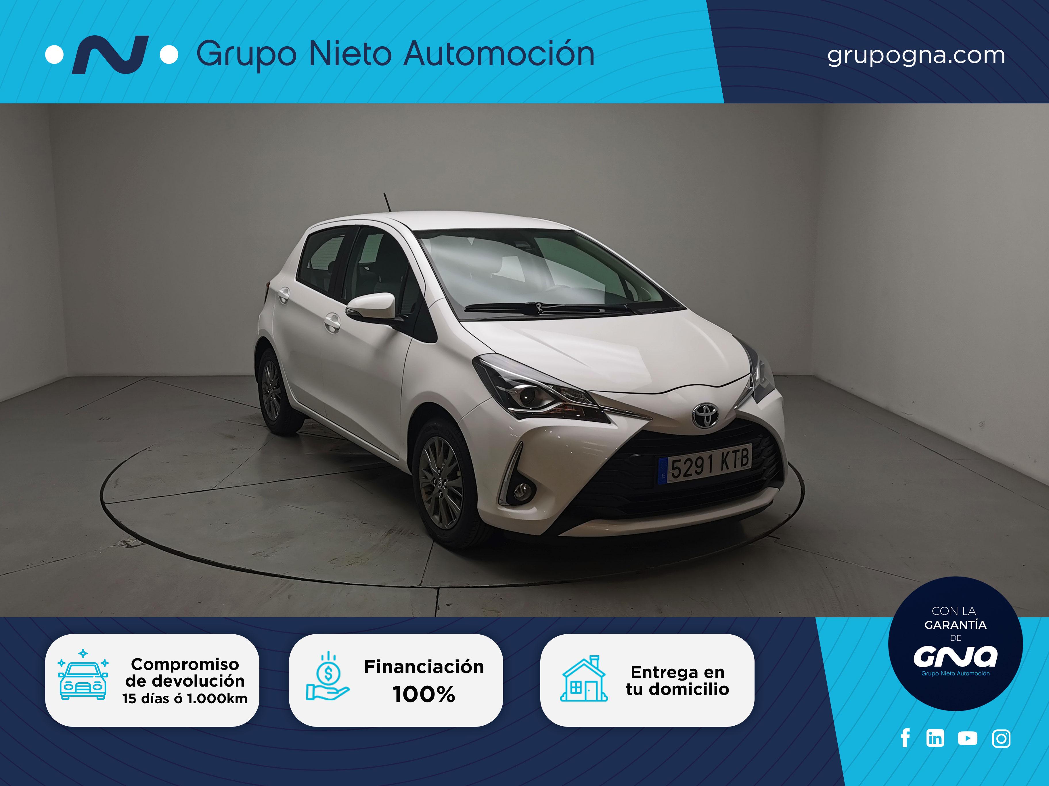 Toyota Yaris ocasión segunda mano 2019 Gasolina por 12.990€ en Málaga