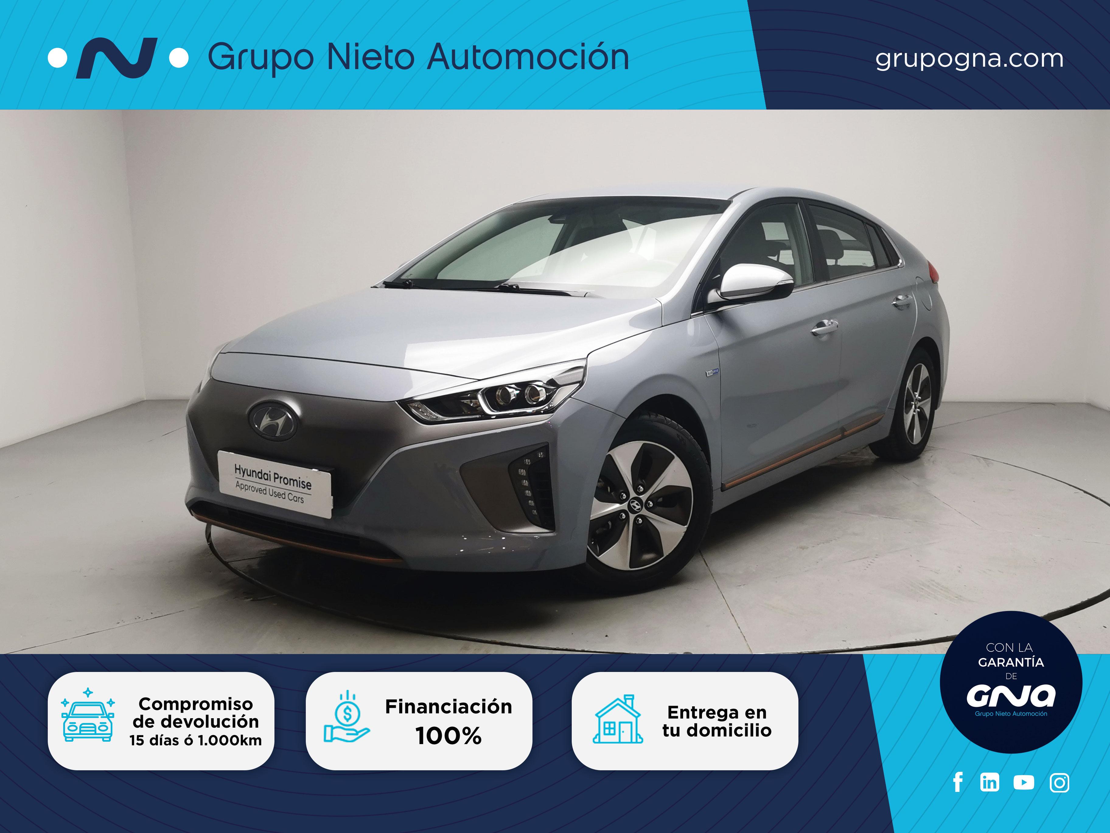 Hyundai IONIQ Eléctrico ocasión segunda mano 2017 Gasolina por 17.900€ en Málaga
