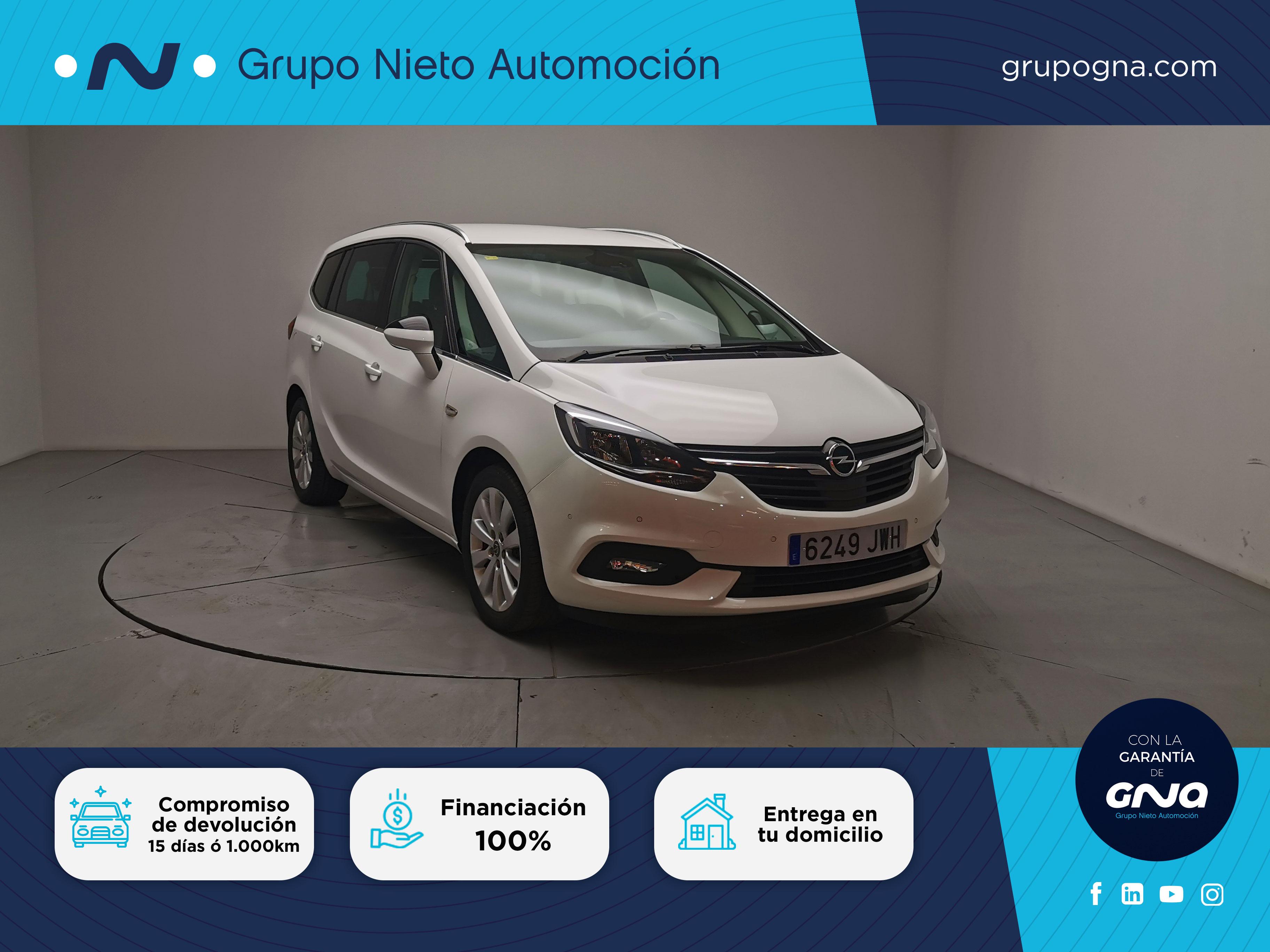 Opel Zafira  Tourer    ocasión segunda mano 2017 Diésel por 16.900€ en Málaga