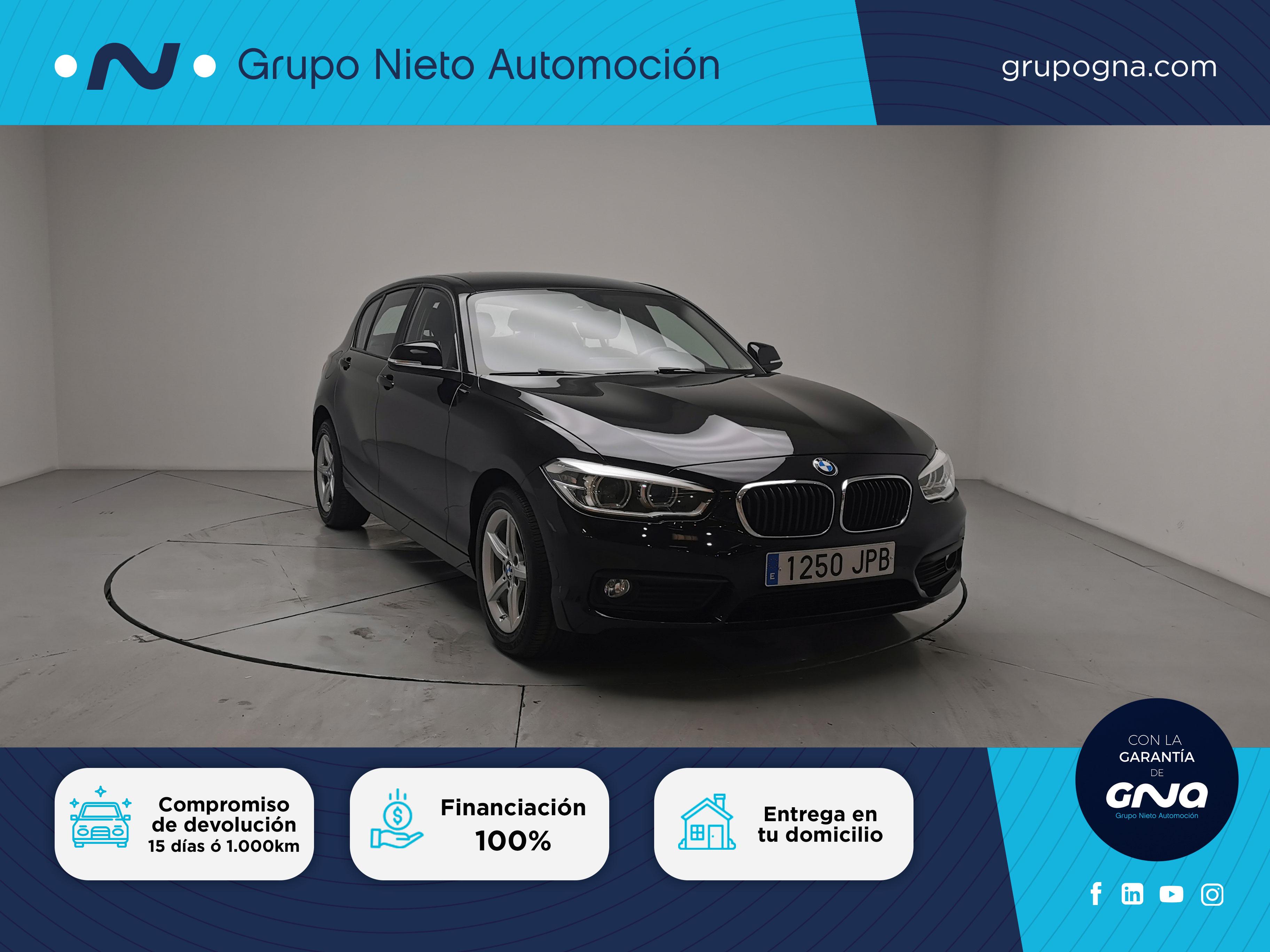 BMW Serie 1 ocasión segunda mano 2016 Diésel por 14.900€ en Málaga