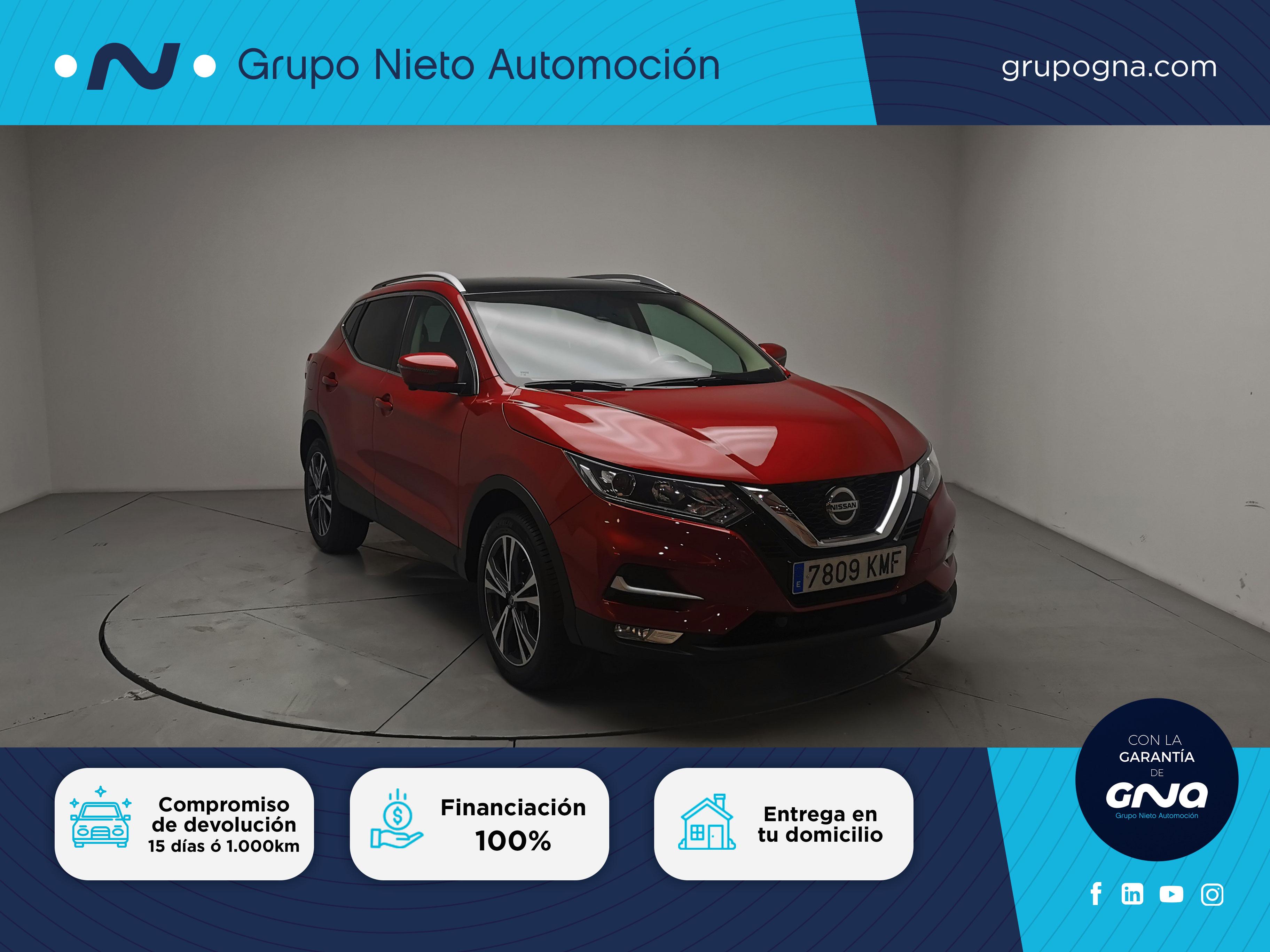 Nissan Qashqai ocasión segunda mano 2018 Diésel por 20.900€ en Málaga