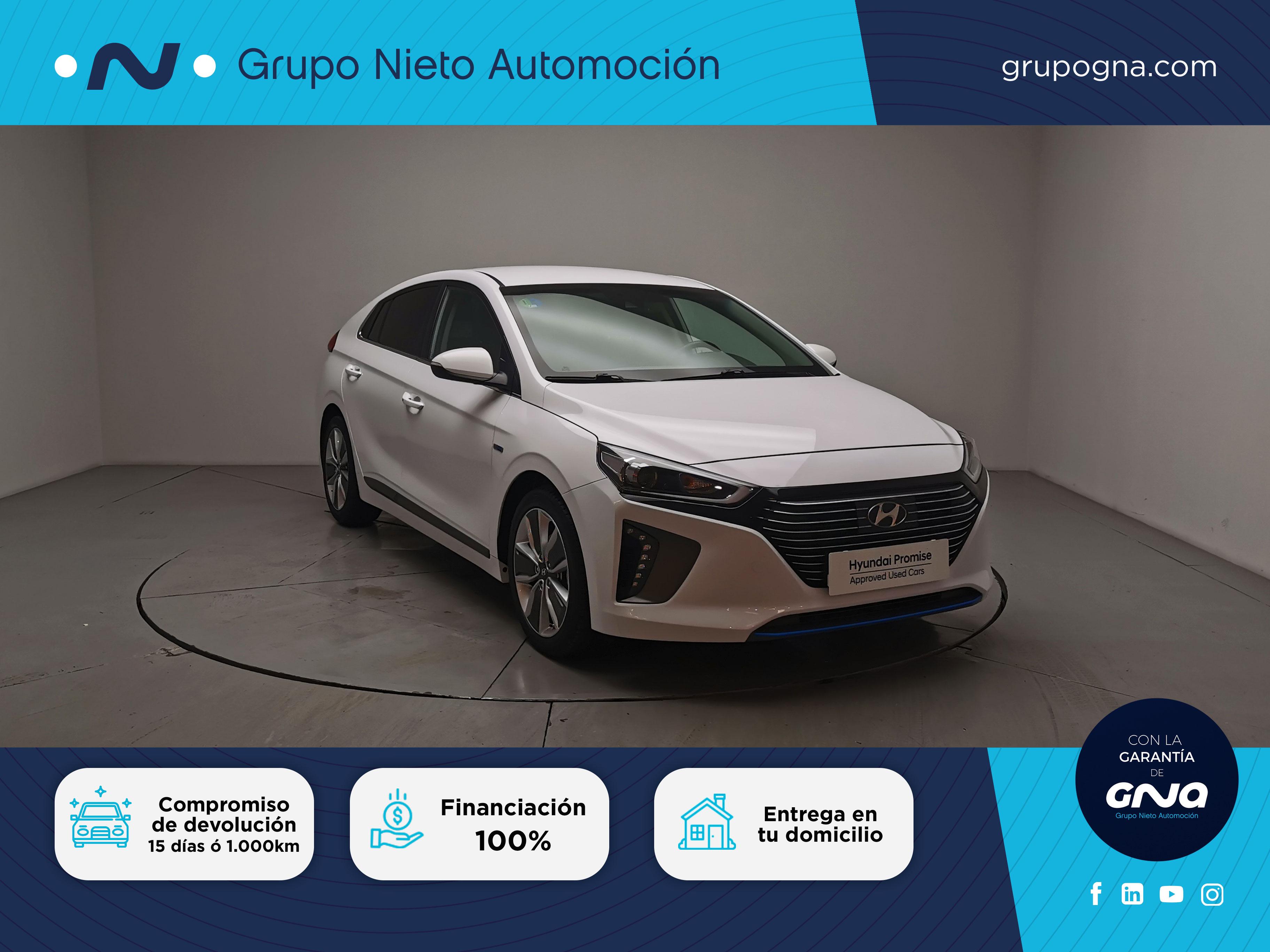 Hyundai IONIQ ocasión segunda mano 2017 Gasolina por 16.900€ en Málaga