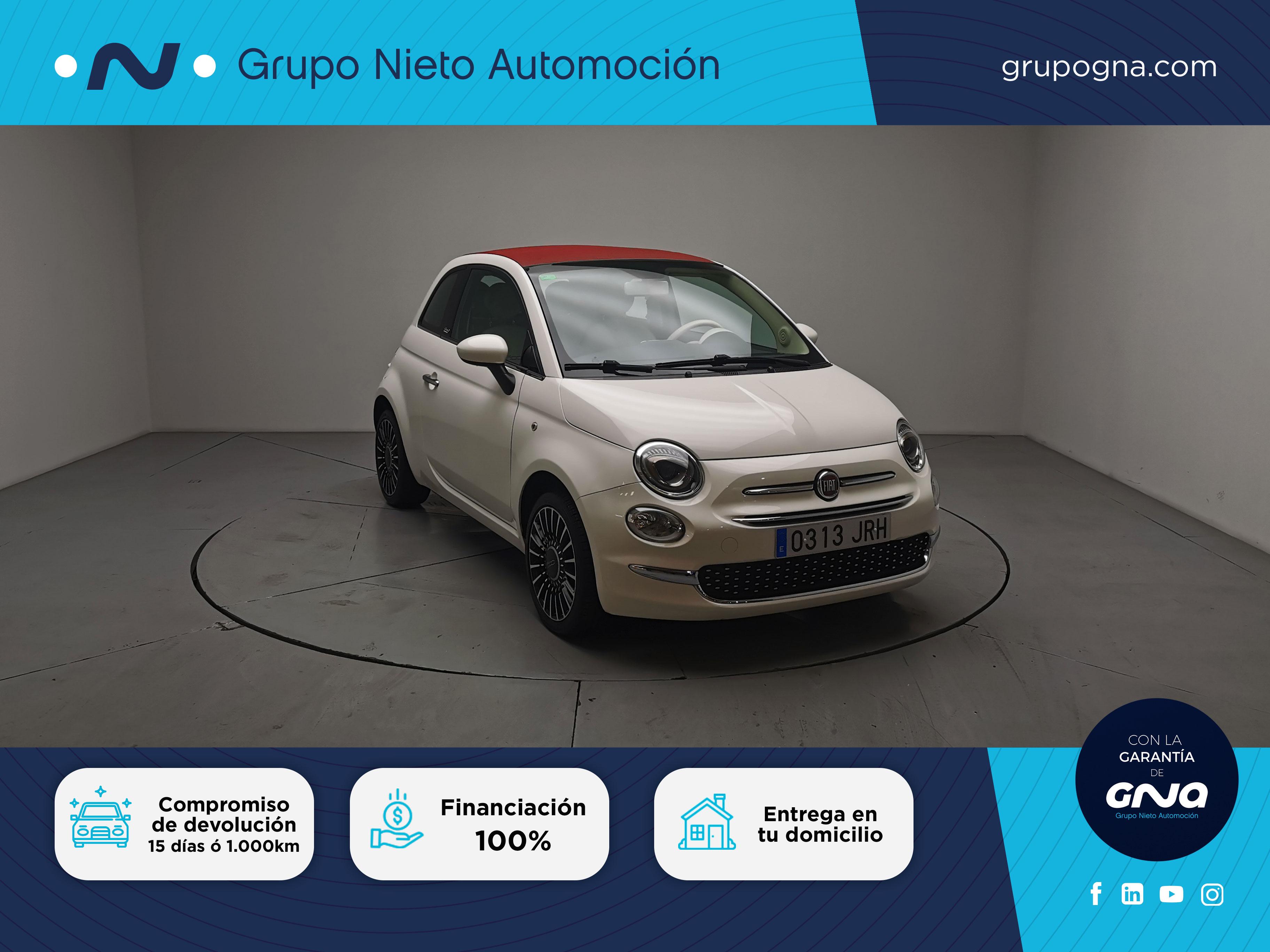 Fiat 500C ocasión segunda mano 2016 Gasolina por 12.500€ en Málaga