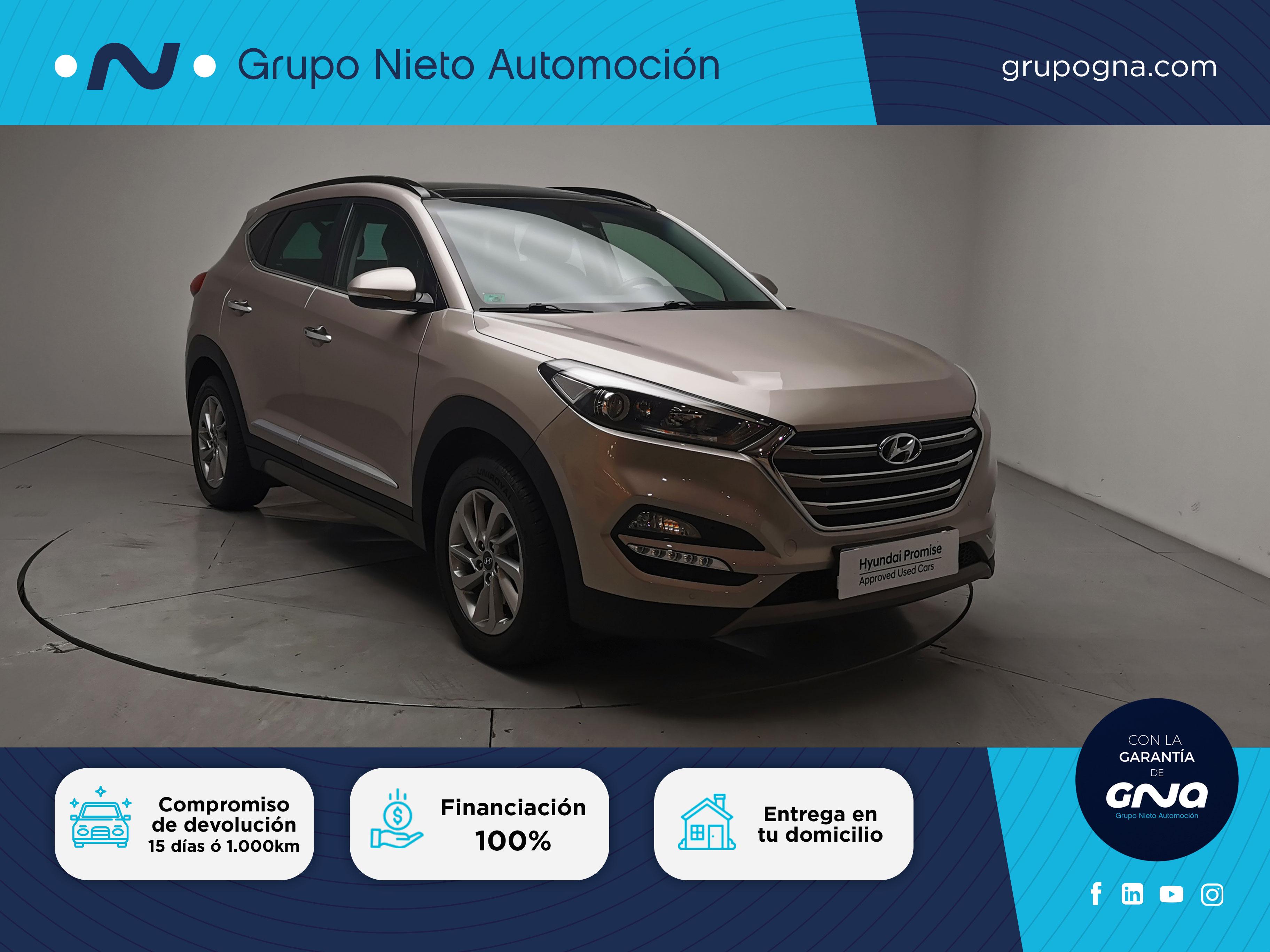 Hyundai Tucson ocasión segunda mano 2016 Diésel por 20.400€ en Málaga