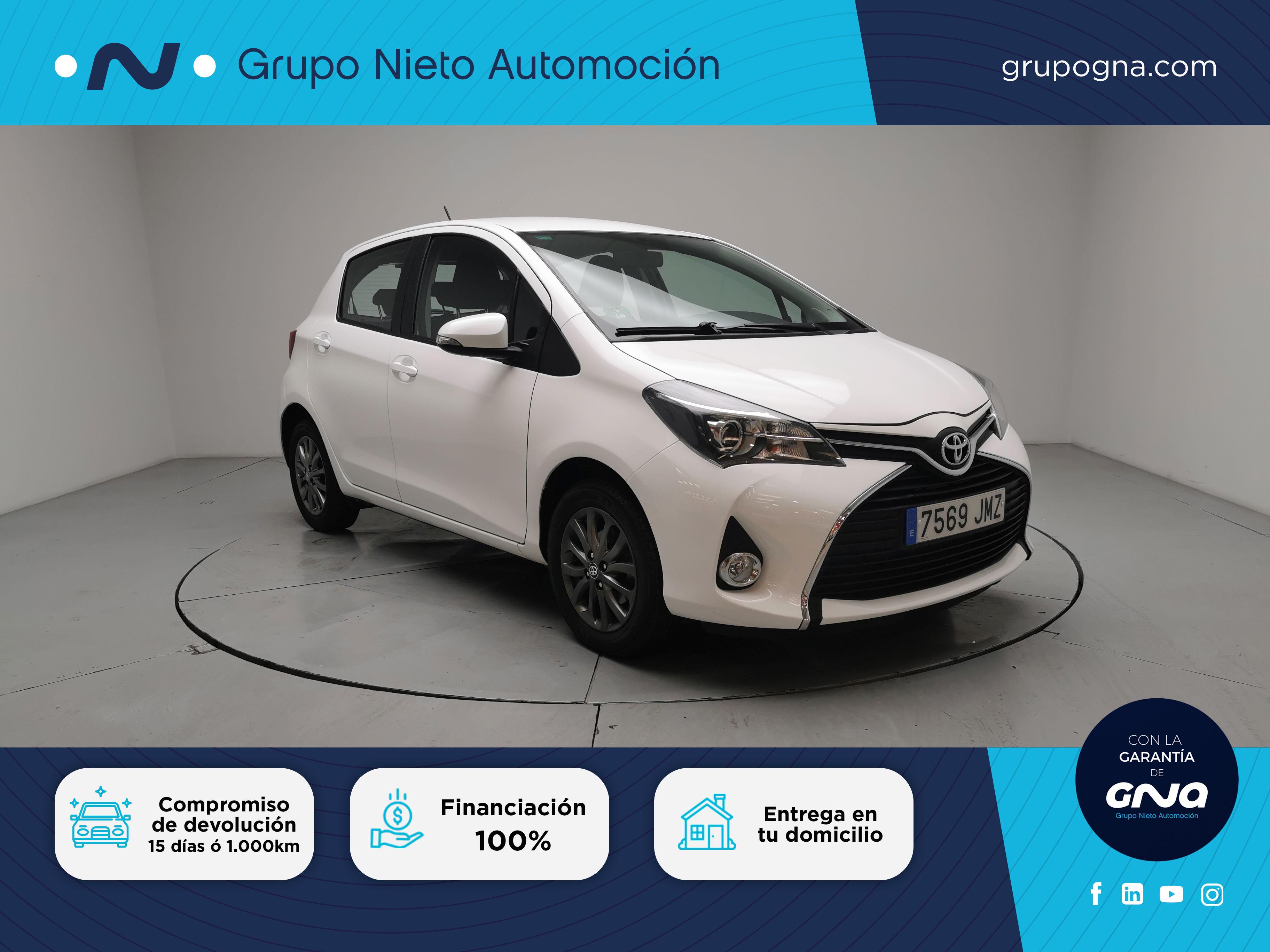 Toyota Yaris ocasión segunda mano 2016 Gasolina por 11.600€ en Málaga