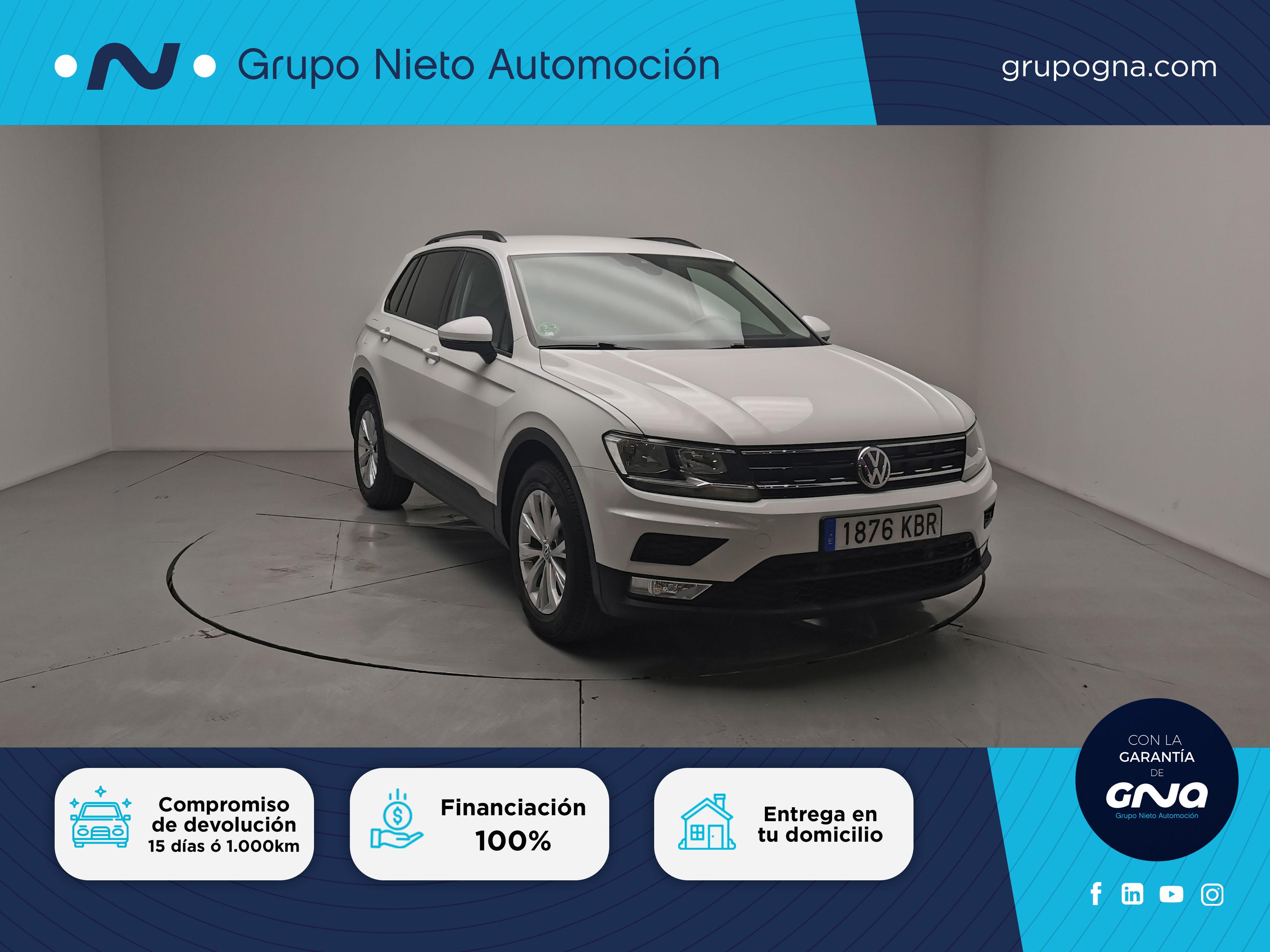 Volkswagen Tiguan ocasión segunda mano 2017 Diésel por 23.300€ en Málaga