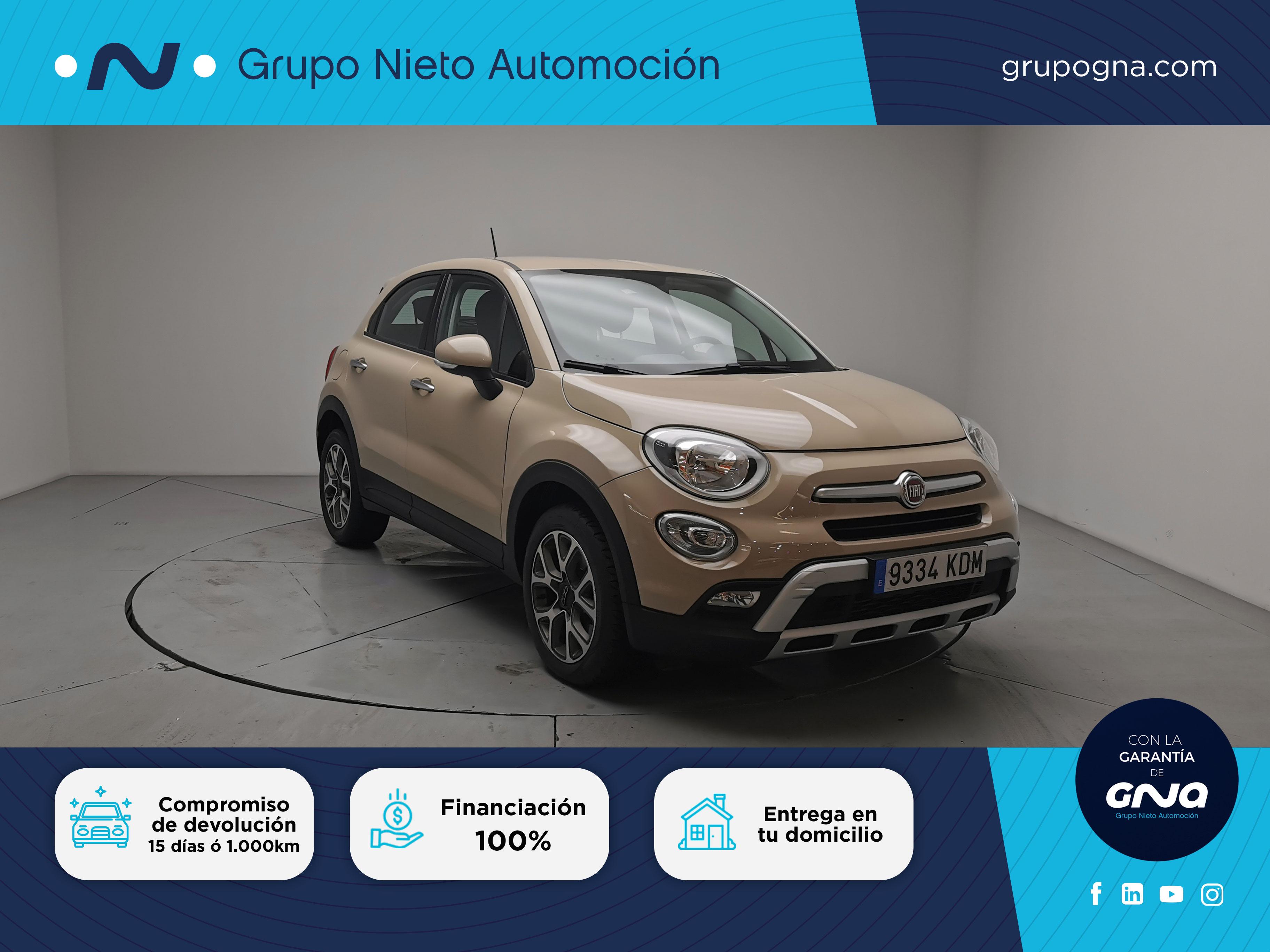 Fiat 500X ocasión segunda mano 2017 Gasolina por 16.900€ en Málaga