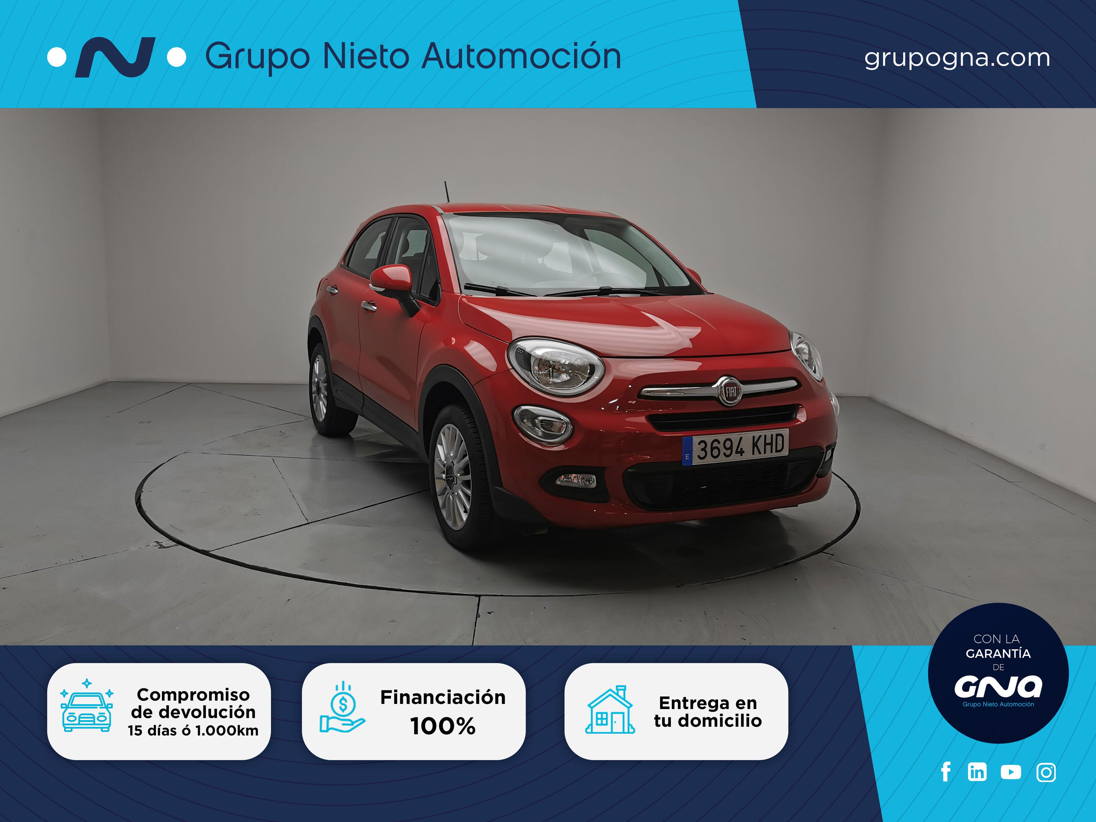 Fiat 500X ocasión segunda mano 2018 Gasolina por 15.900€ en Málaga