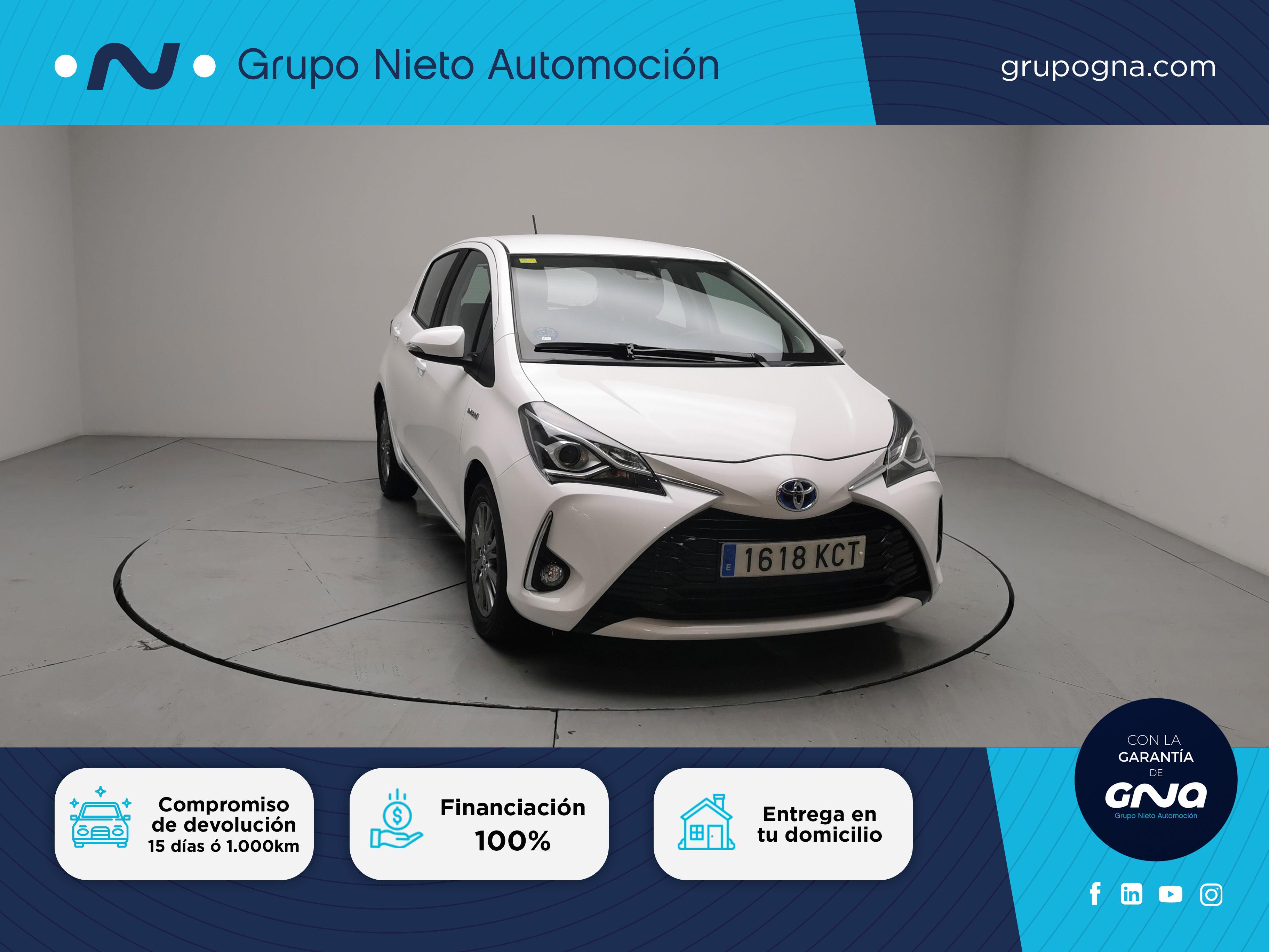 Toyota Yaris ocasión segunda mano 2017 Gasolina por 15.300€ en Málaga
