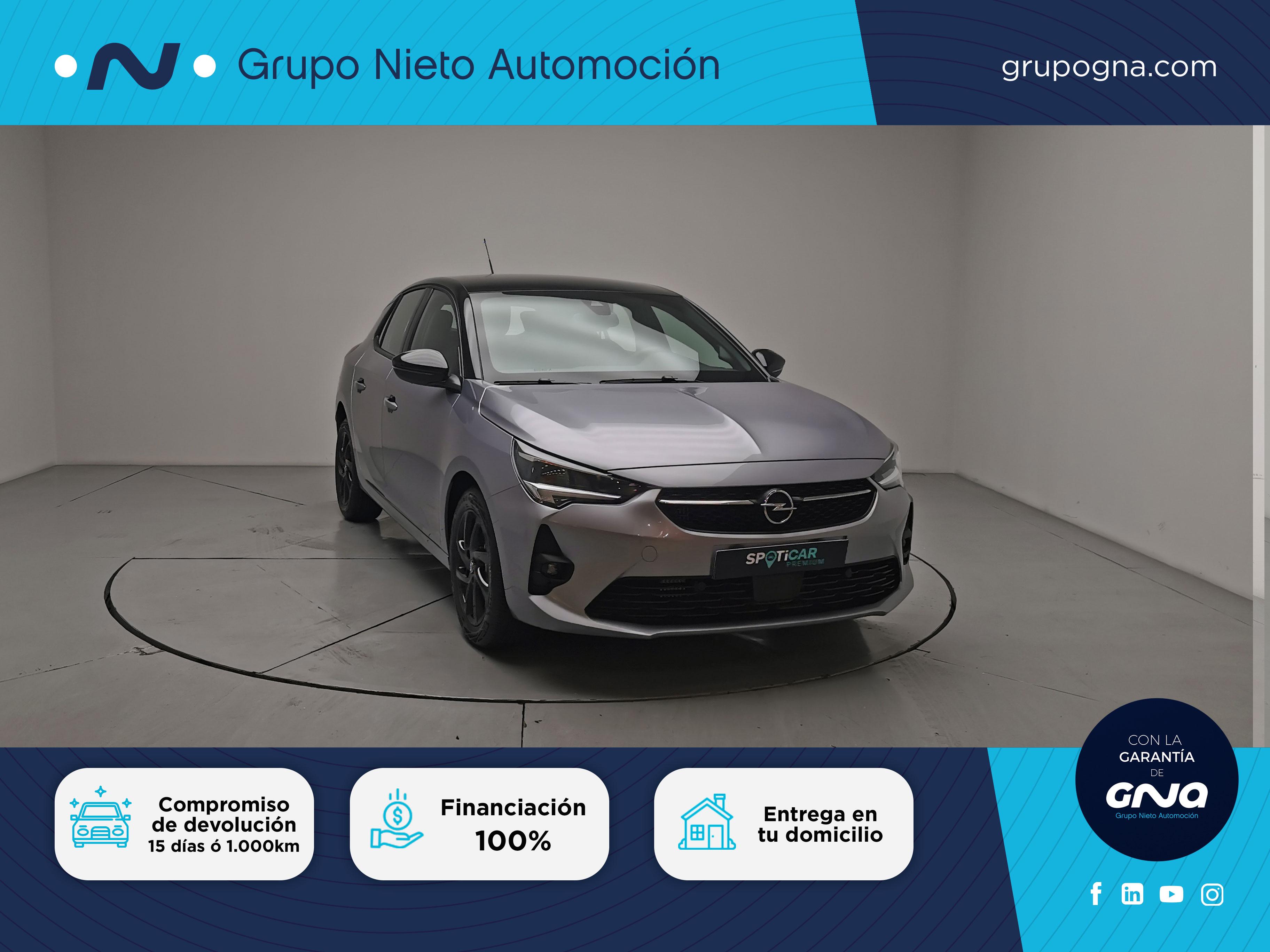 Opel Corsa ocasión segunda mano 2021 Gasolina por 17.300€ en Málaga